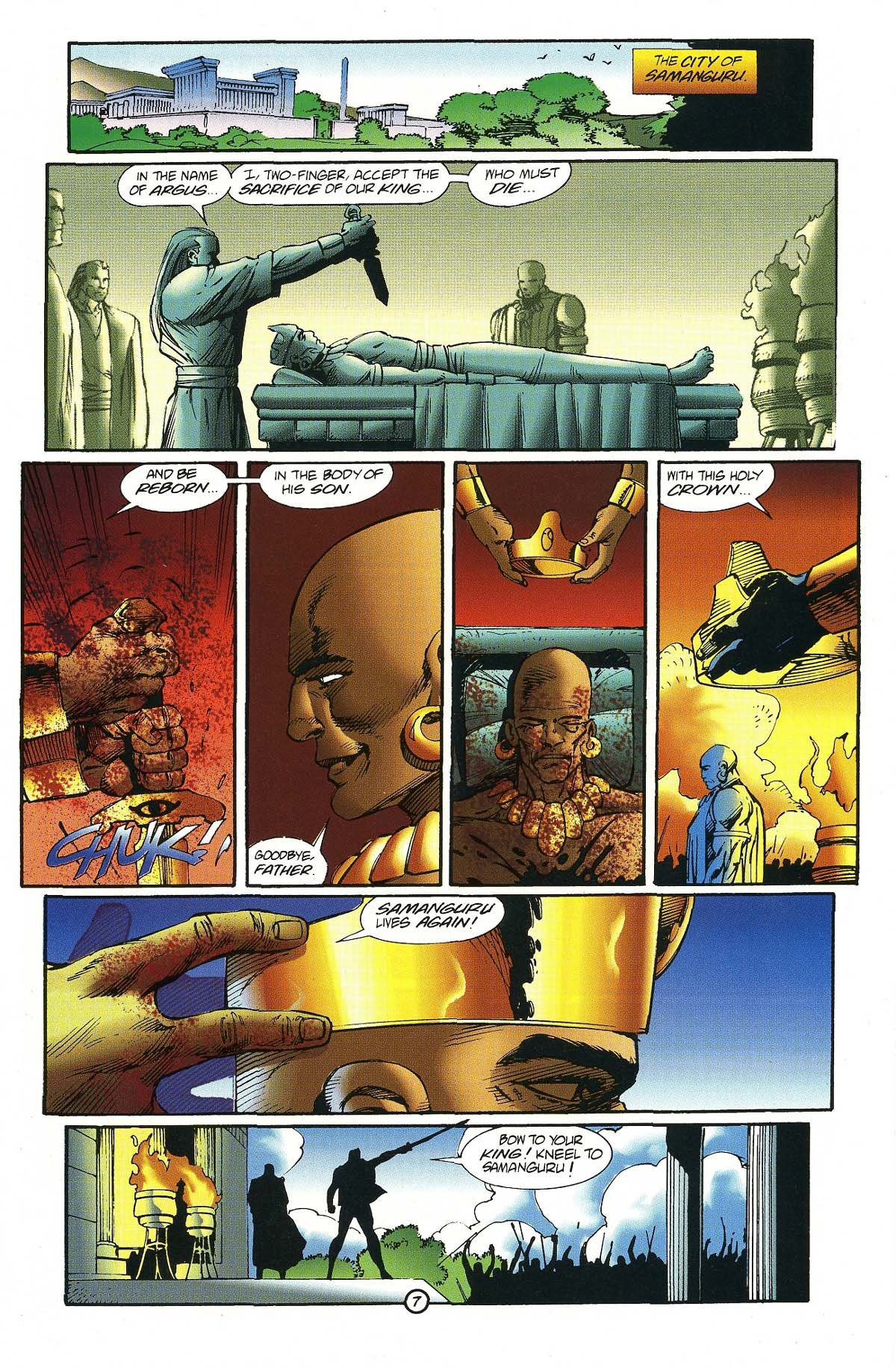 Read online Rune (1994) comic -  Issue #7 - 9