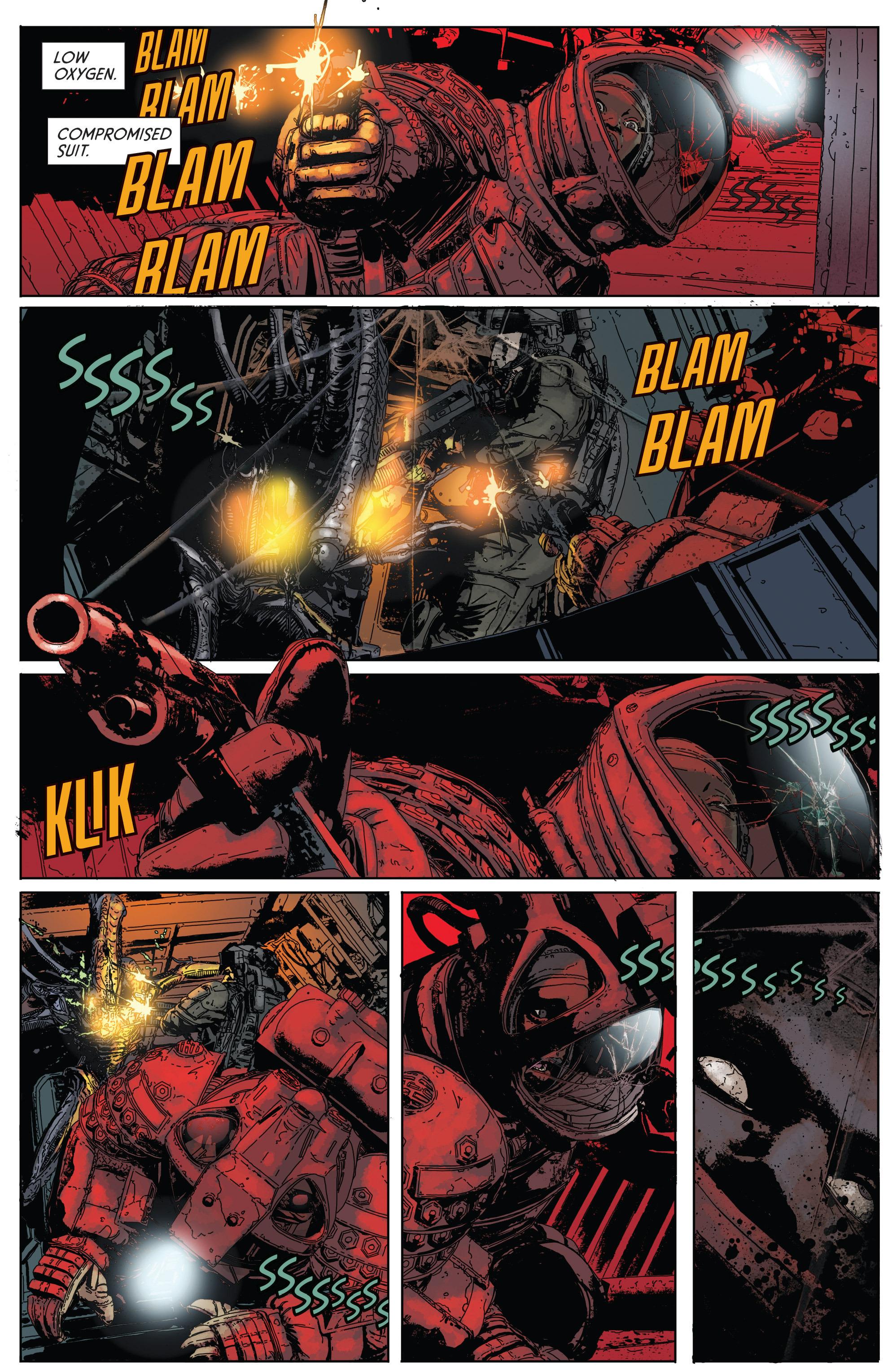 Read online Aliens: Defiance comic -  Issue #1 - 19