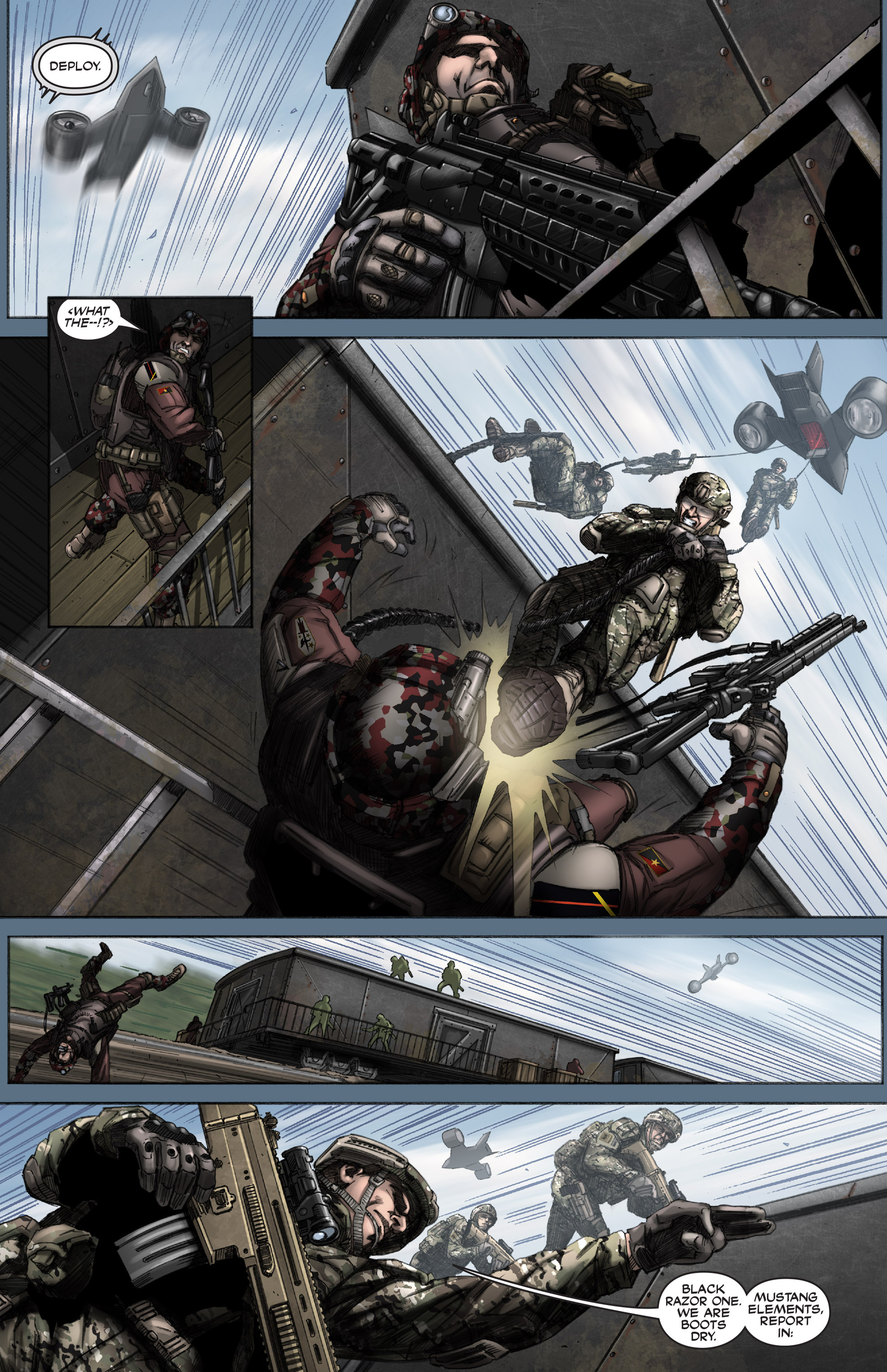 Read online America's Army comic -  Issue #12 - 8