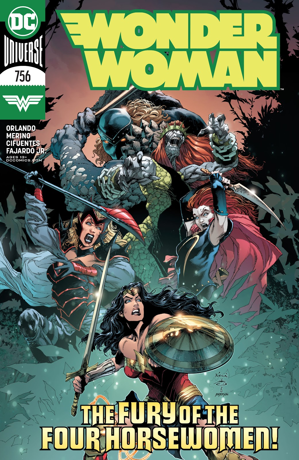 Wonder Woman (2016) 756 Page 1