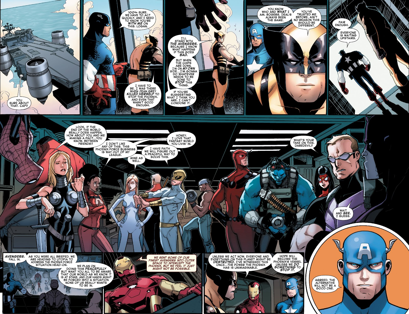 Read online What If? AvX comic -  Issue #1 - 11