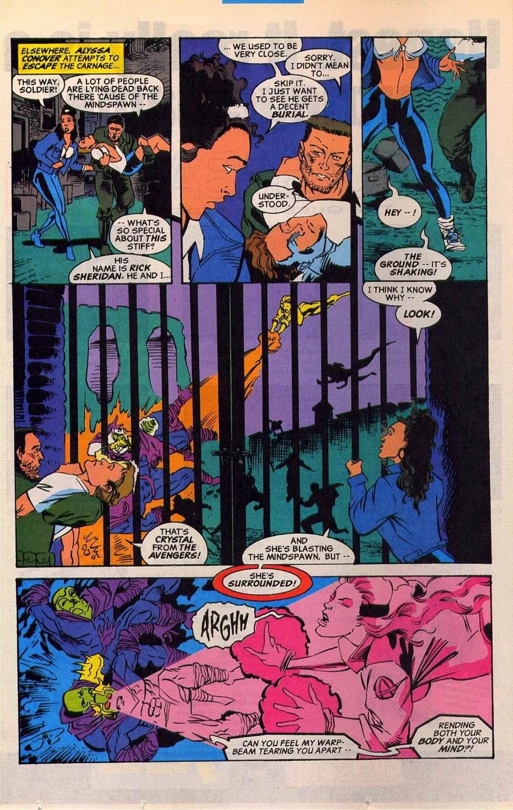 Read online Sleepwalker comic -  Issue #27 - 10