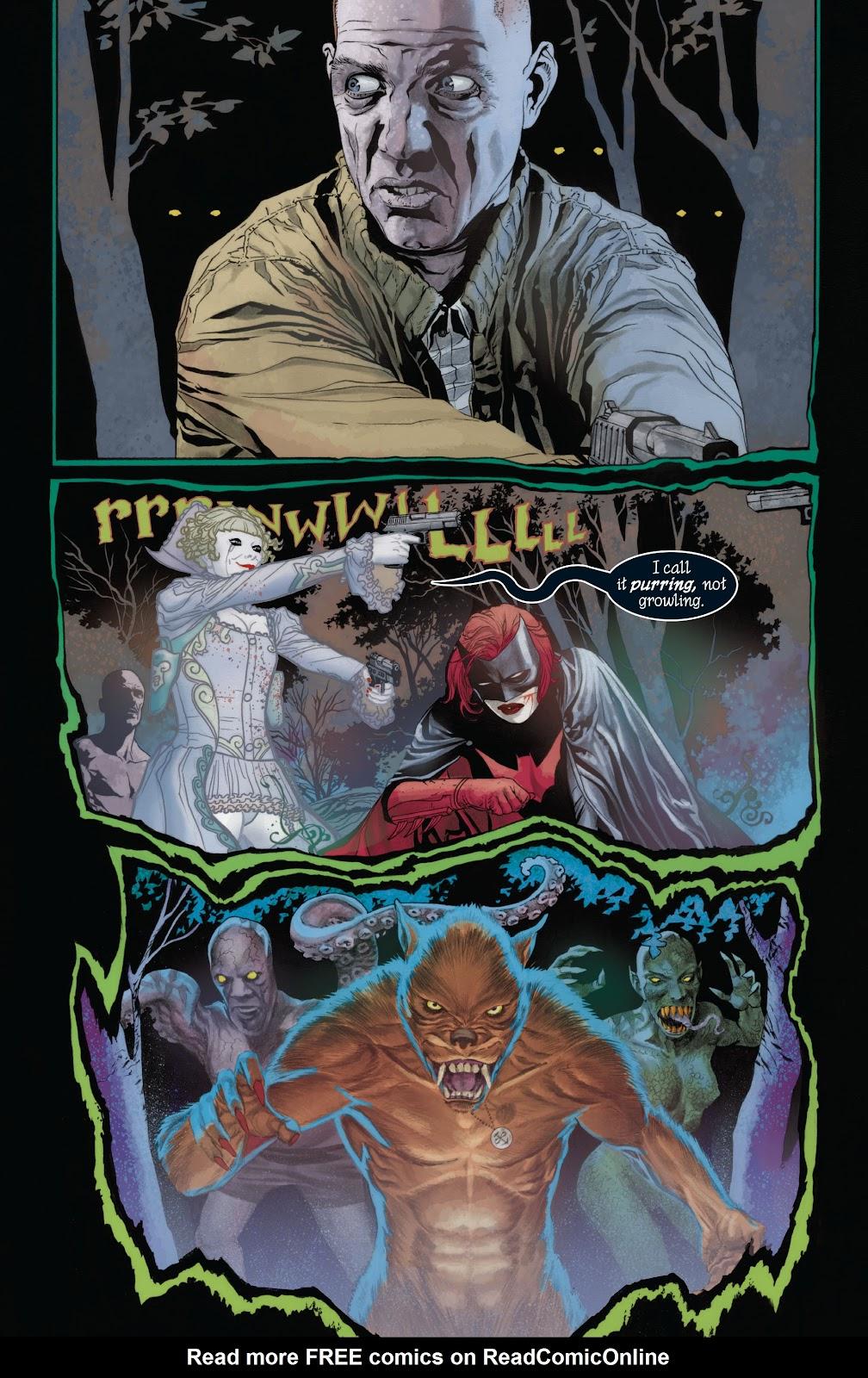 Read online Detective Comics (1937) comic -  Issue # _TPB Batwoman - Elegy (Part 1) - 44