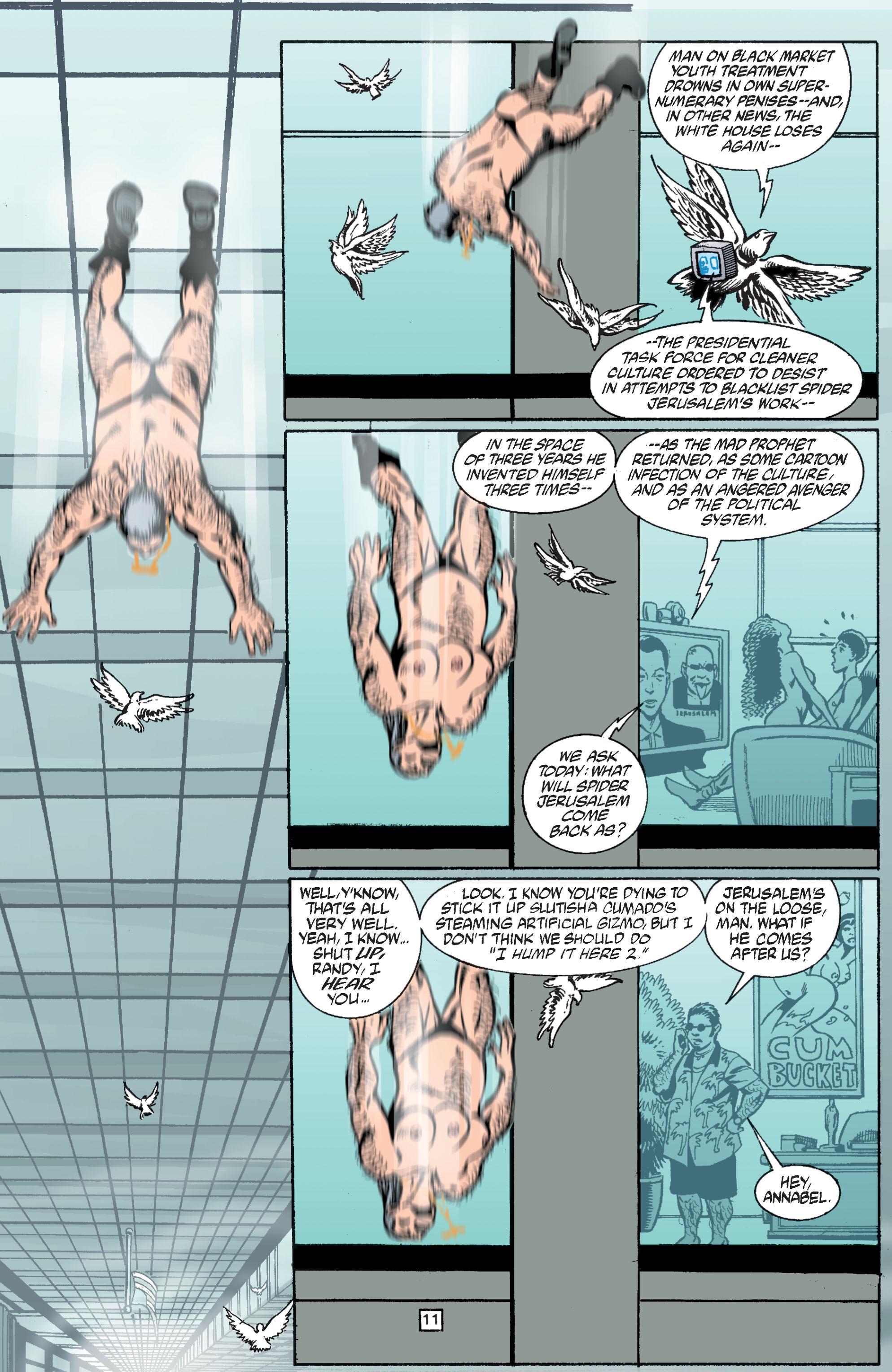 Read online Transmetropolitan comic -  Issue #37 - 12