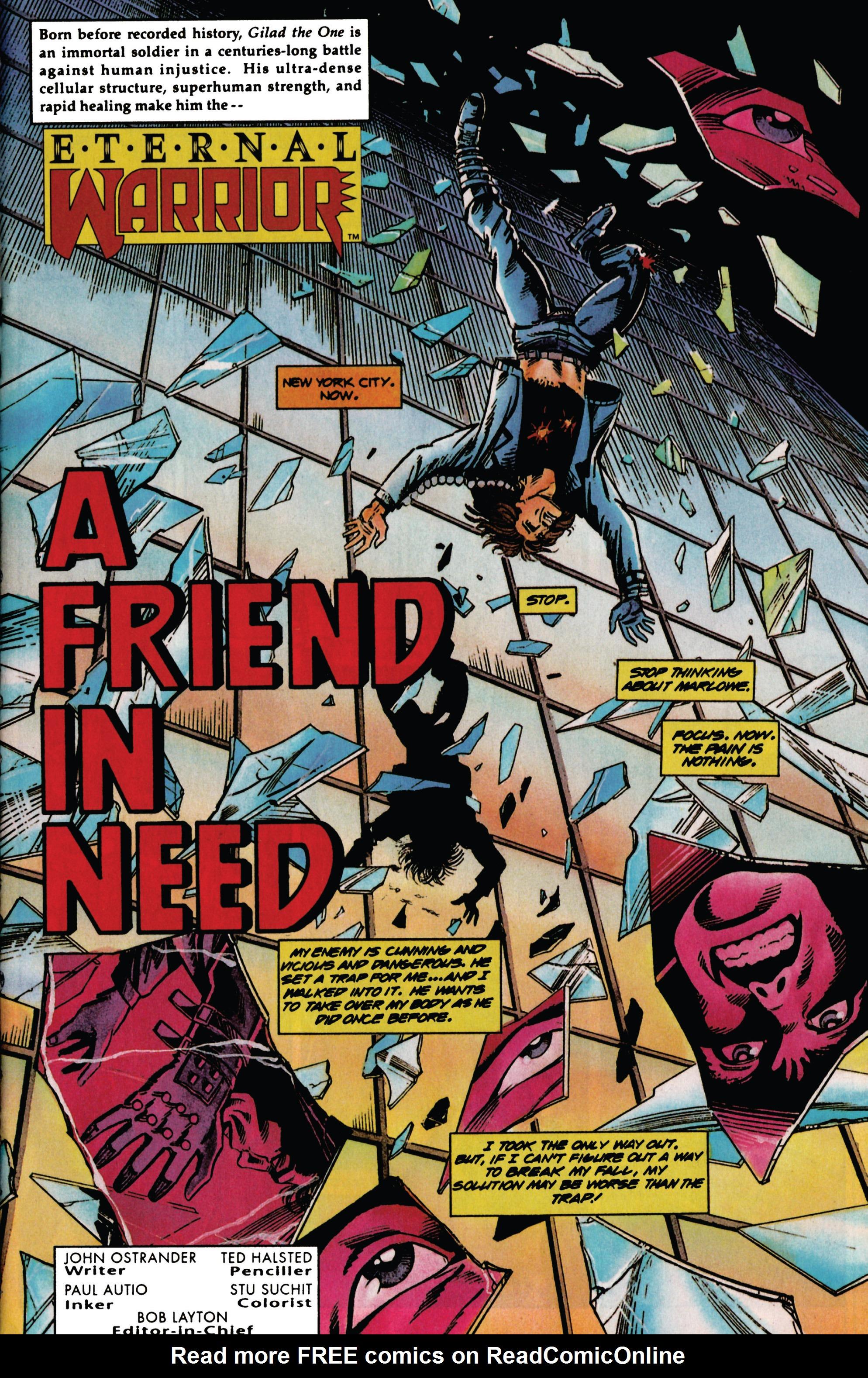 Read online Eternal Warrior (1992) comic -  Issue #30 - 7