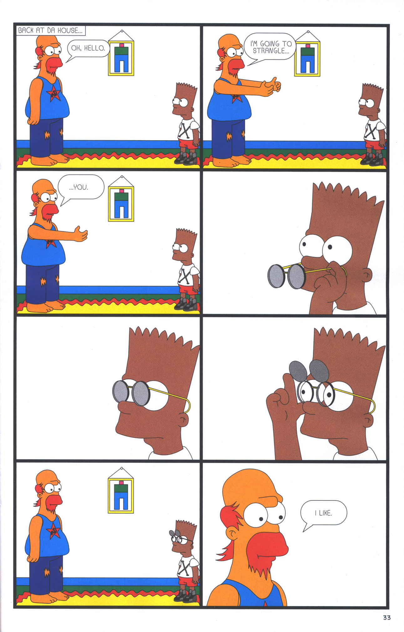 Read online Treehouse of Horror comic -  Issue #15 - 36