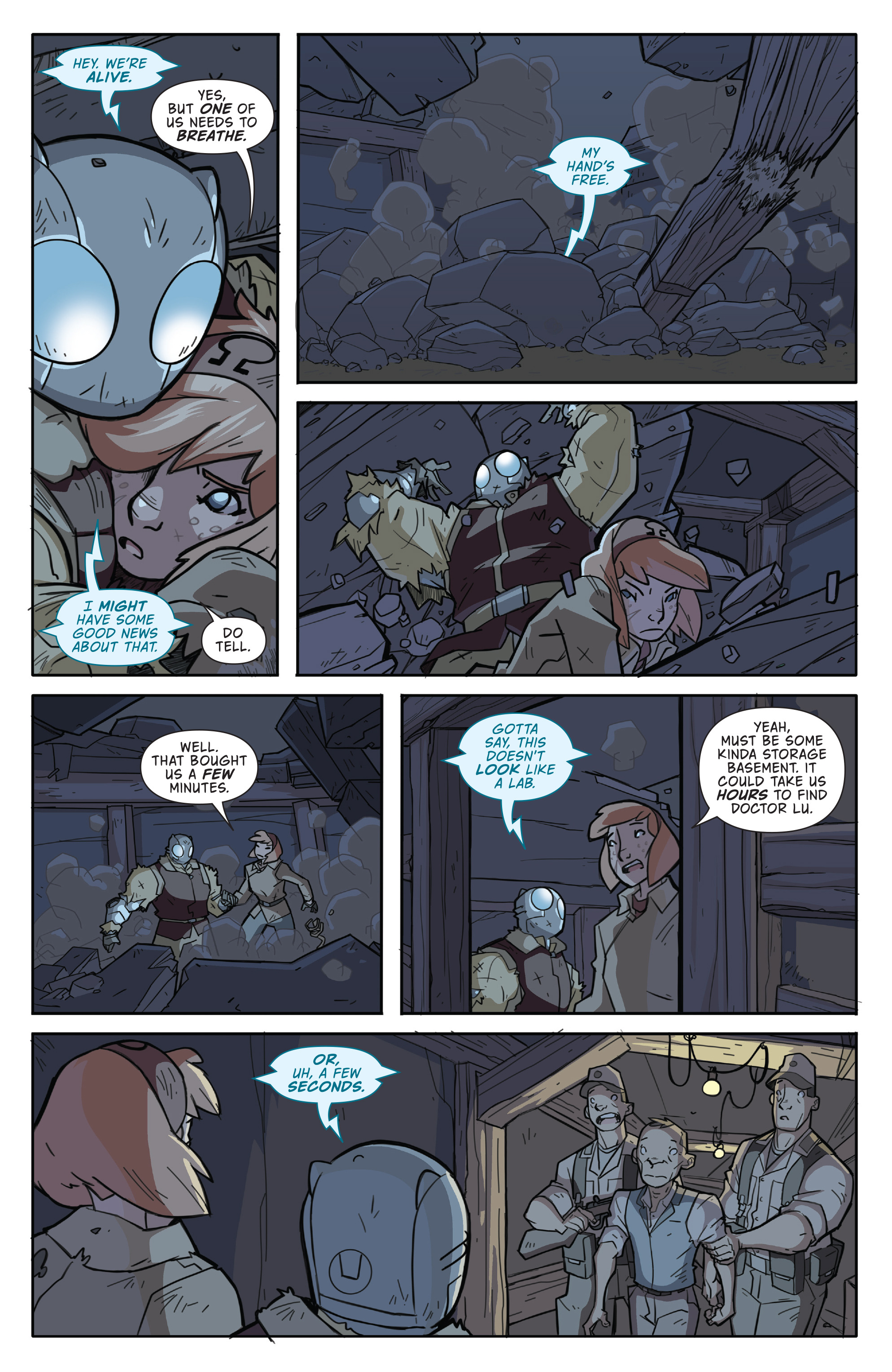 Read online Atomic Robo and the Temple of Od comic -  Issue #2 - 13