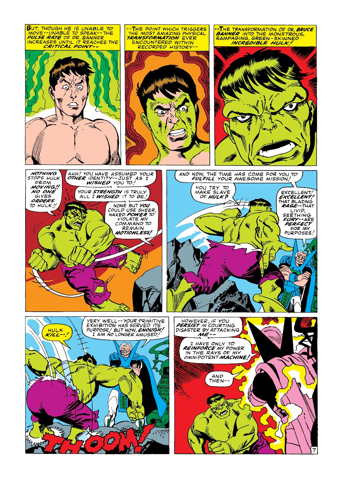 Read online Marvel Masterworks: The Incredible Hulk comic -  Issue # TPB 3 (Part 2) - 13
