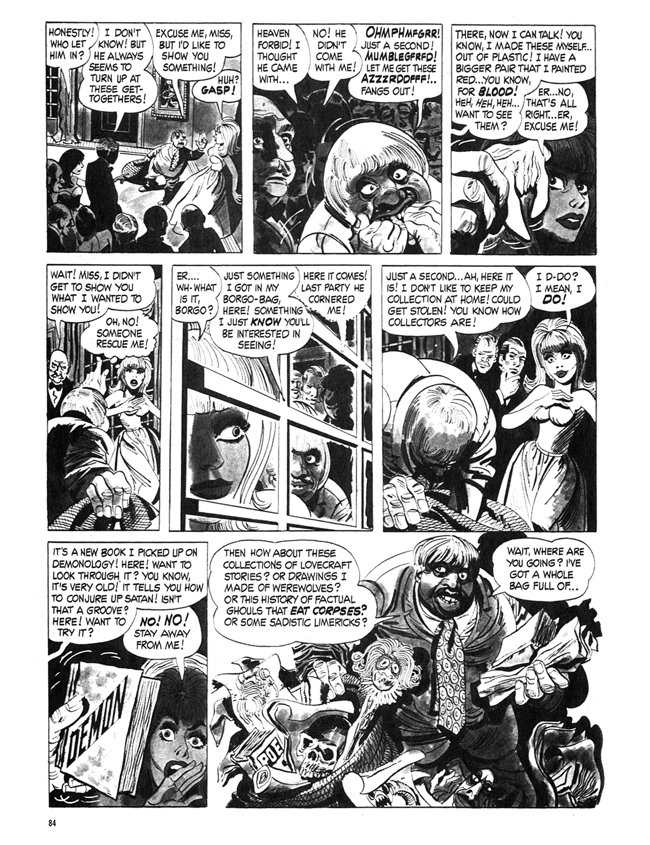 Read online Eerie Archives comic -  Issue # TPB 5 - 85