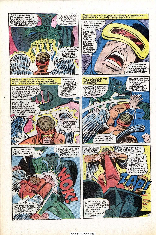 Read online Uncanny X-Men (1963) comic -  Issue #77 - 24