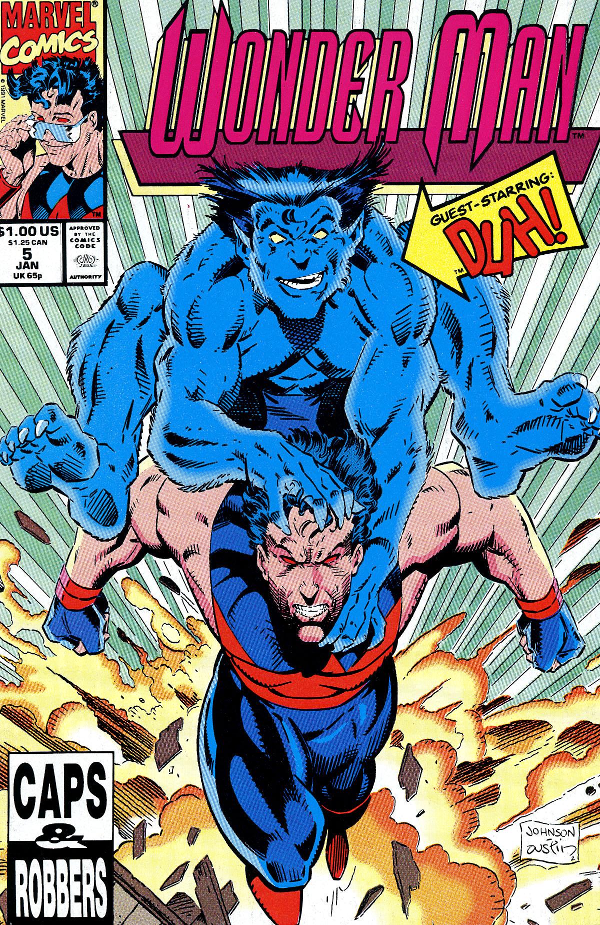 Read online Wonder Man (1991) comic -  Issue #5 - 1