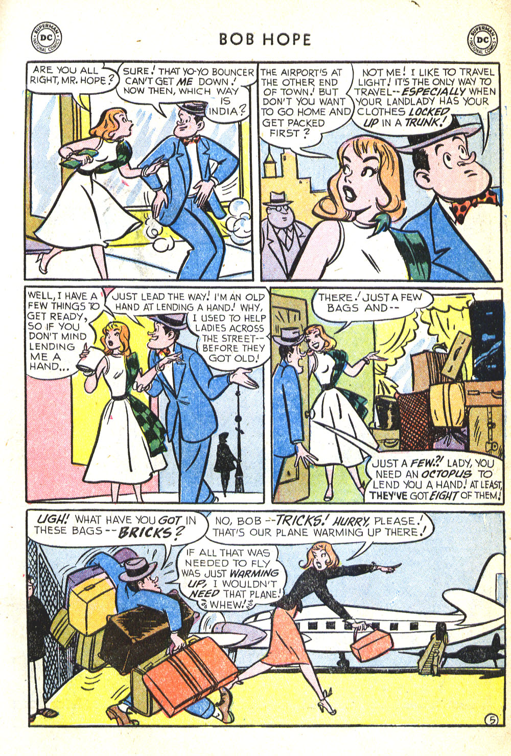 The Adventures of Bob Hope issue 30 - Page 7