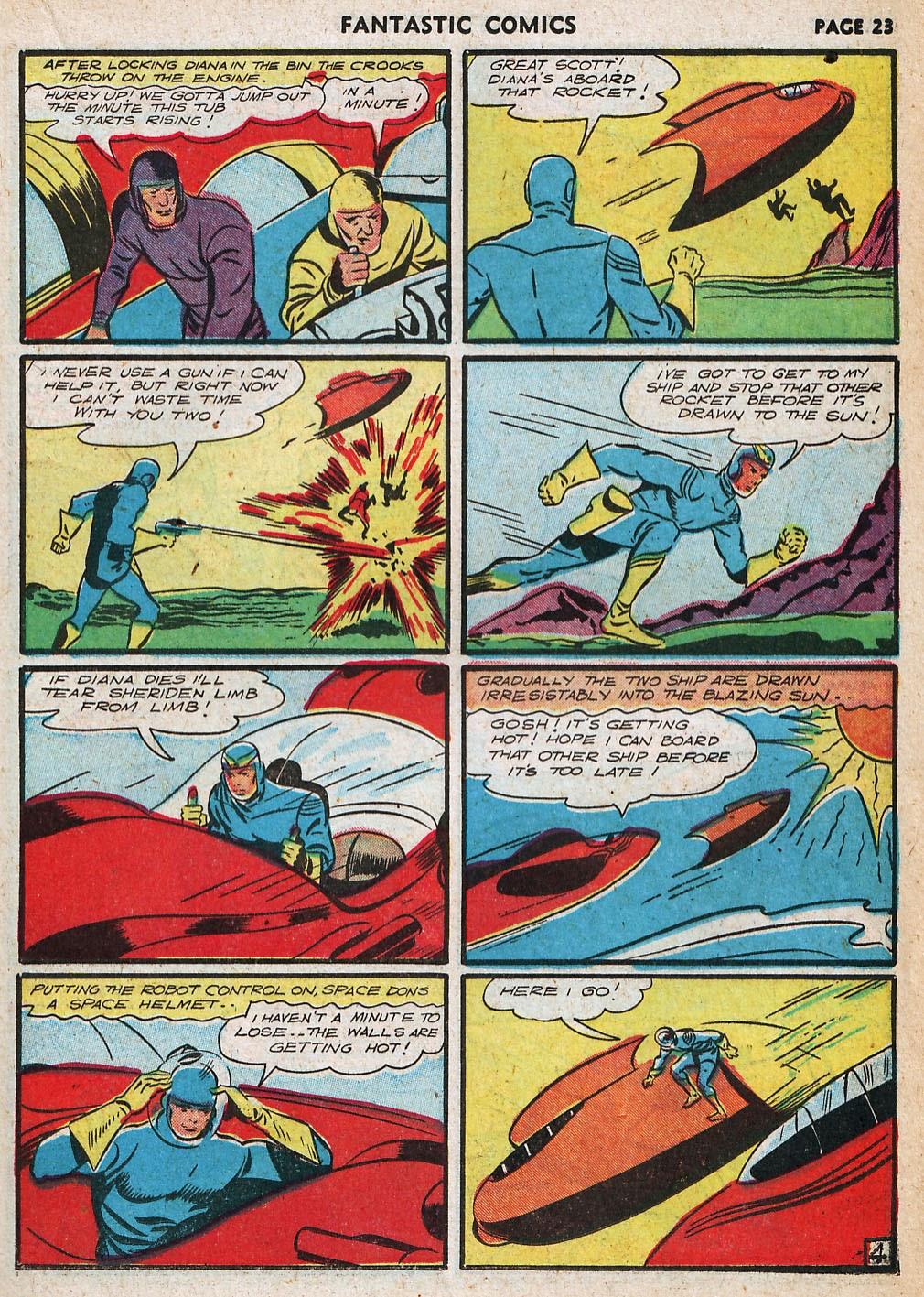 Read online Fantastic Comics comic -  Issue #20 - 24