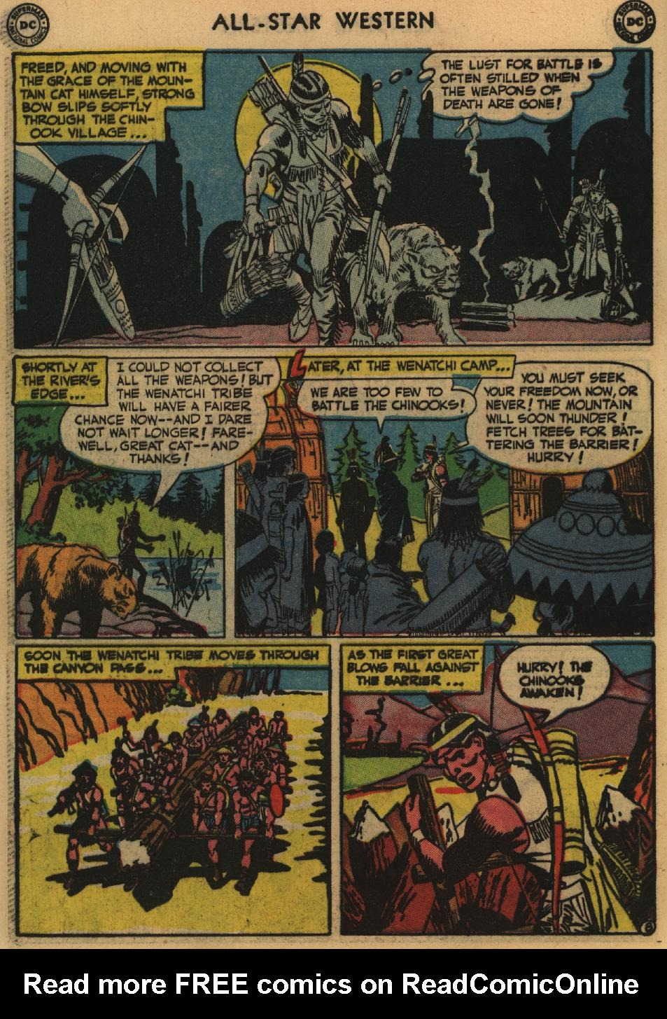 Read online All-Star Western (1951) comic -  Issue #60 - 46