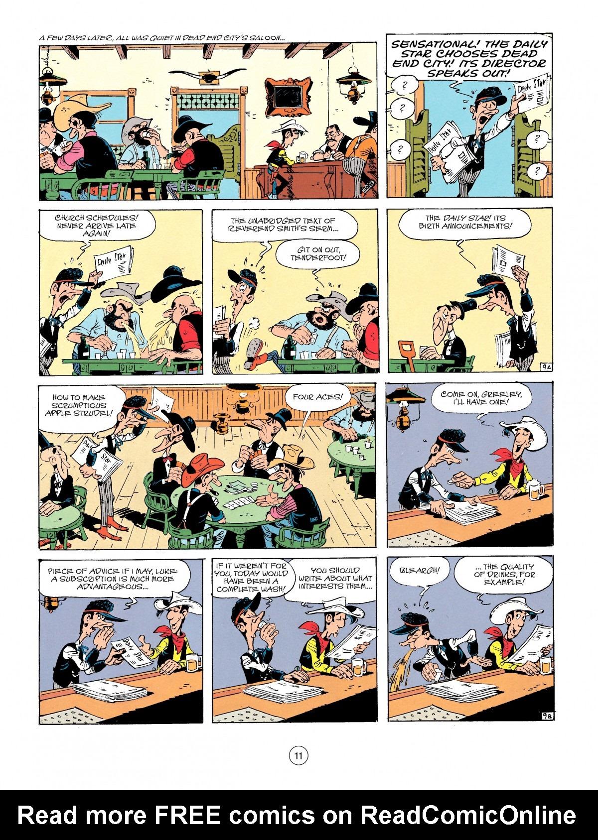 Read online A Lucky Luke Adventure comic -  Issue #41 - 11