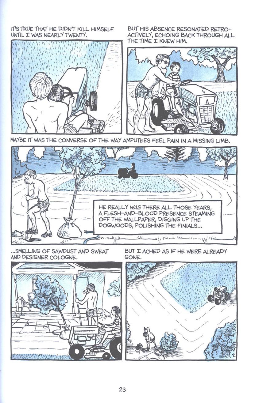 Read online Fun Home: A Family Tragicomic comic -  Issue # TPB - 30