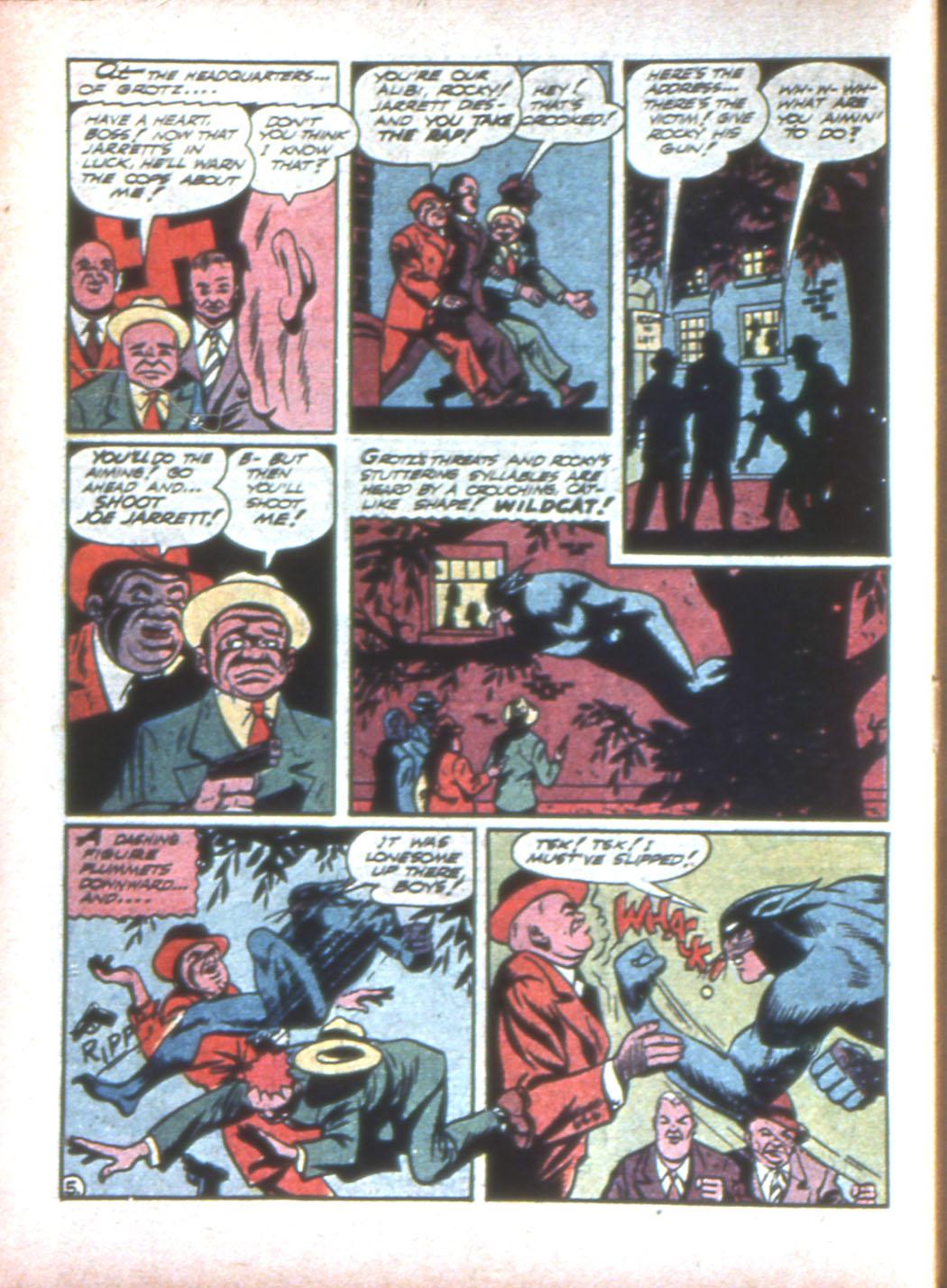 Read online Sensation (Mystery) Comics comic -  Issue #15 - 60