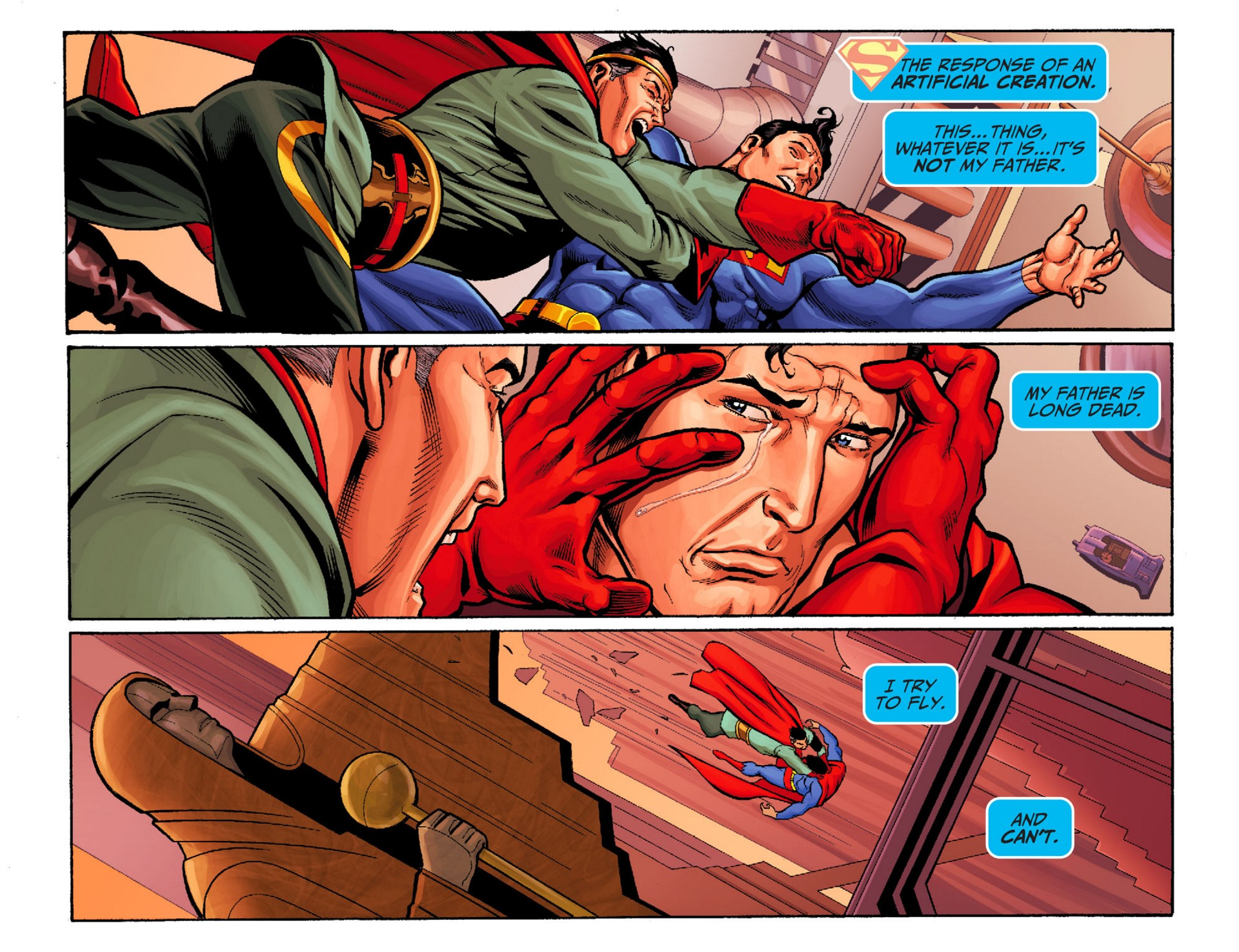 Read online Adventures of Superman [I] comic -  Issue #24 - 5
