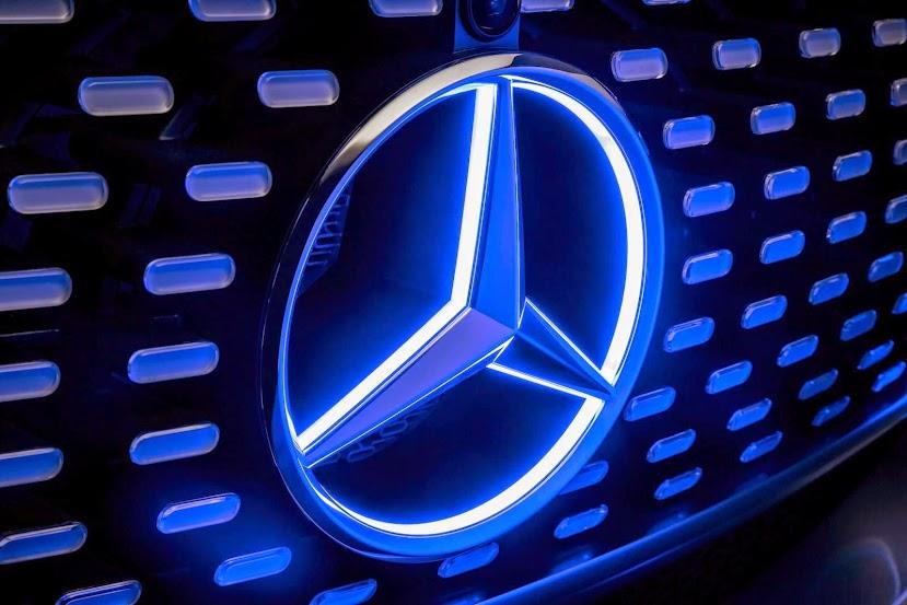 Mercedes-Benz autonomous car concept front