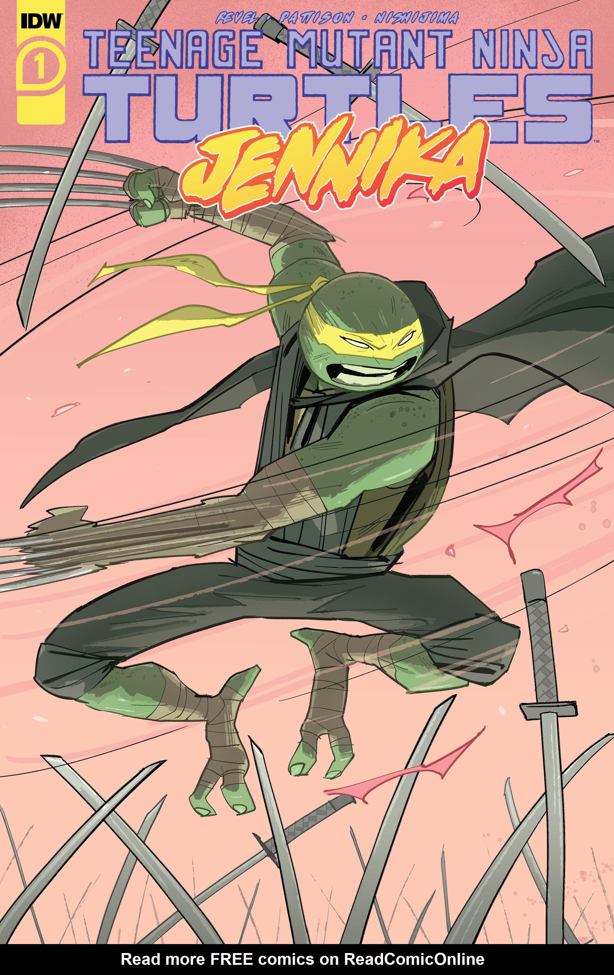 Teenage Mutant Ninja Turtles: Jennika 1 Page 1