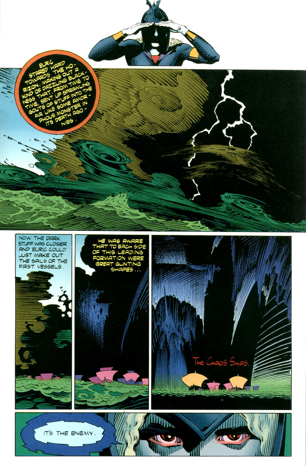 Read online Elric: Stormbringer comic -  Issue #4 - 23