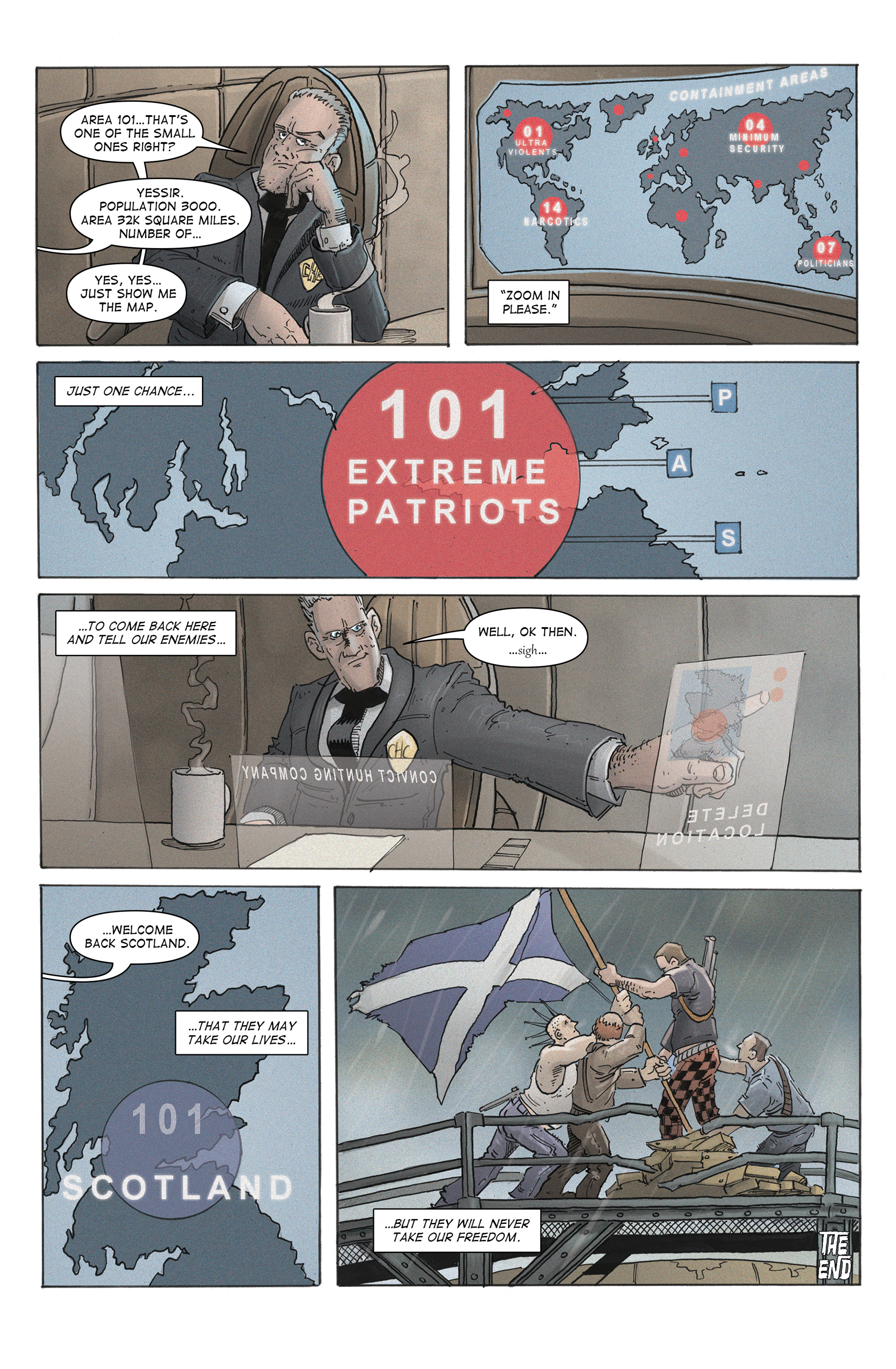 Read online 100% Biodegradable comic -  Issue #12 - 34