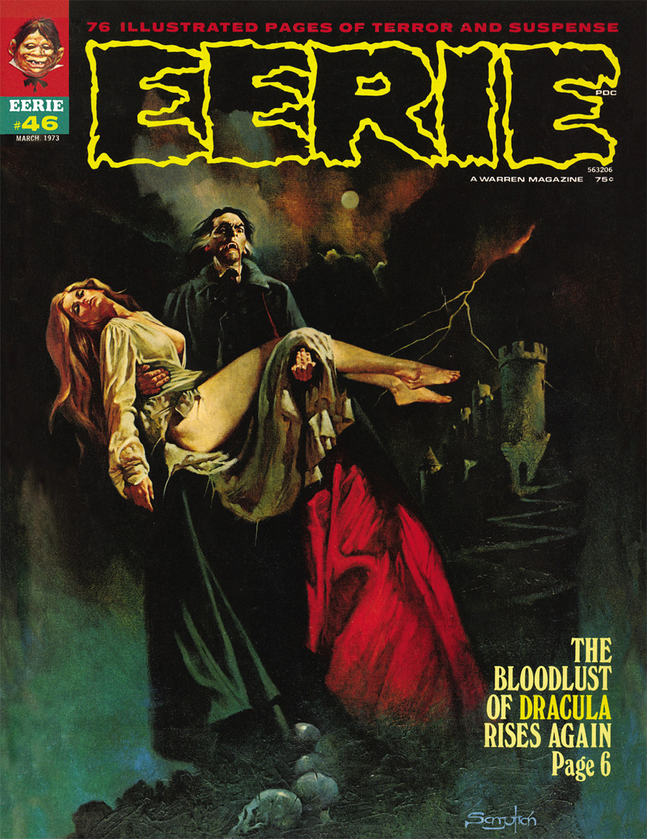 Read online Eerie Archives comic -  Issue # TPB 9 - 206