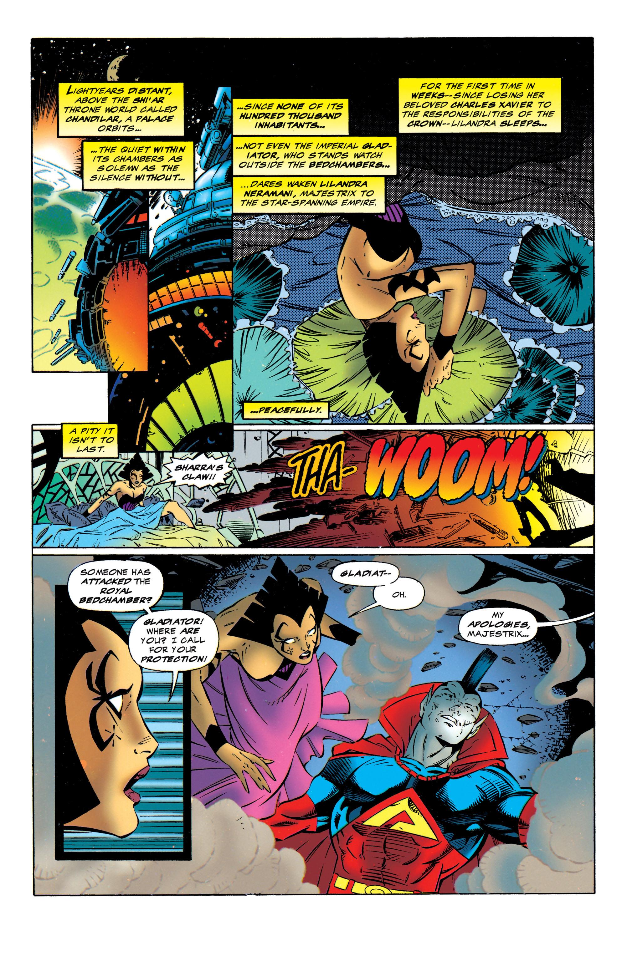 Read online Uncanny X-Men (1963) comic -  Issue #320 - 20