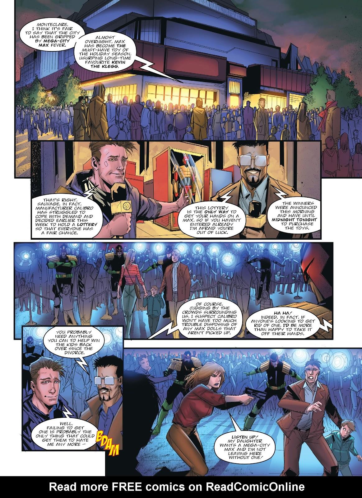 Judge Dredd Megazine (Vol. 5) issue 427 - Page 6