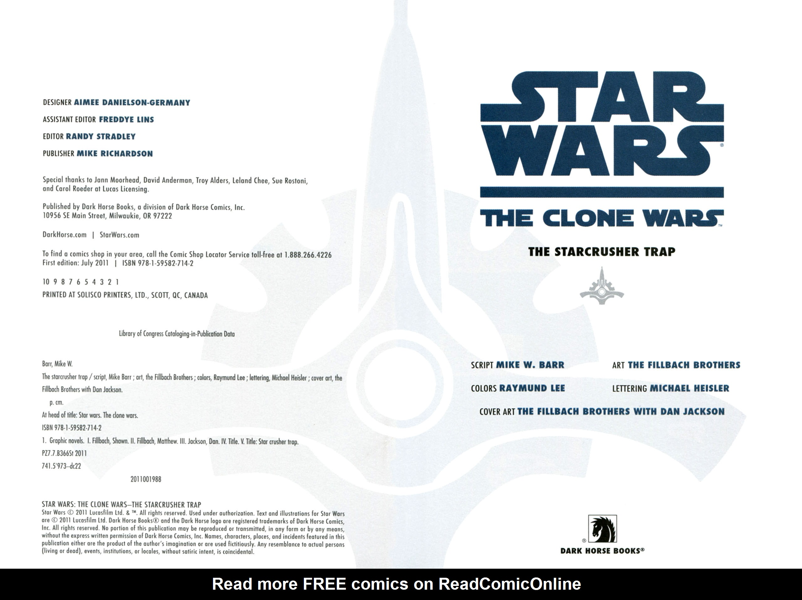 Read online Star Wars: The Clone Wars - The Starcrusher Trap comic -  Issue # Full - 4