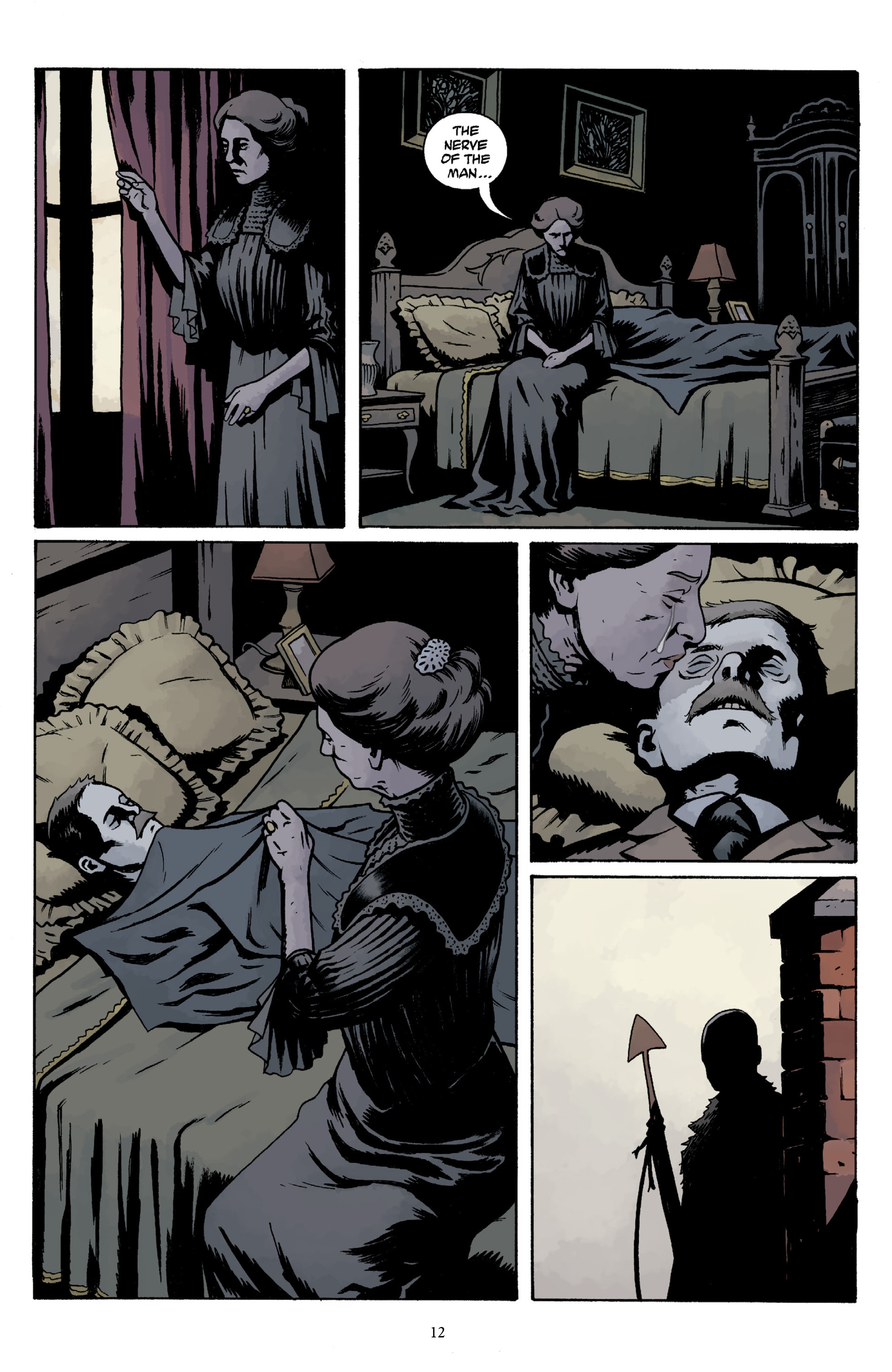 Read online Baltimore Volume 3: A Passing Stranger and Other Stories comic -  Issue # Full - 14