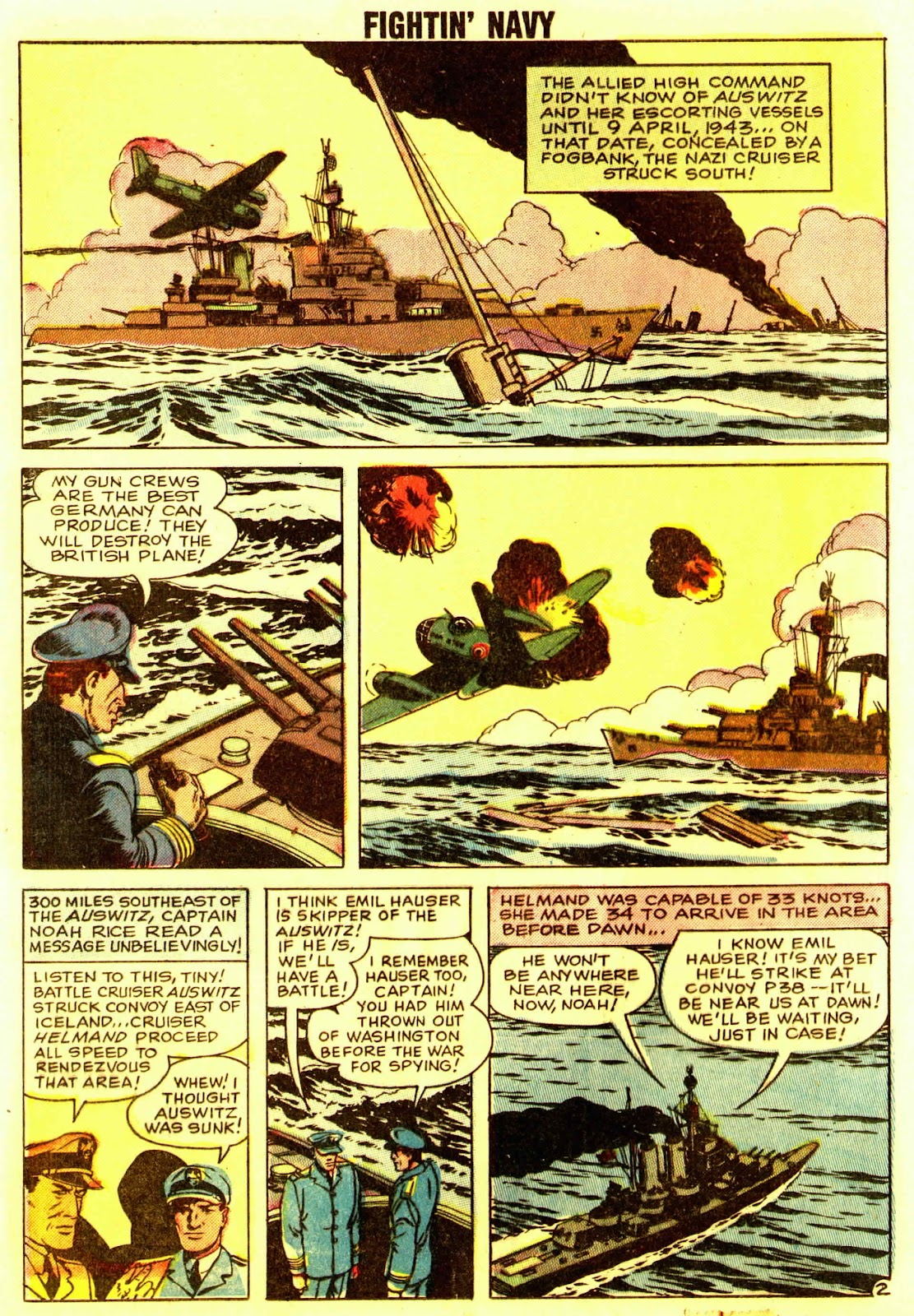 Read online Fightin' Navy comic -  Issue #83 - 76