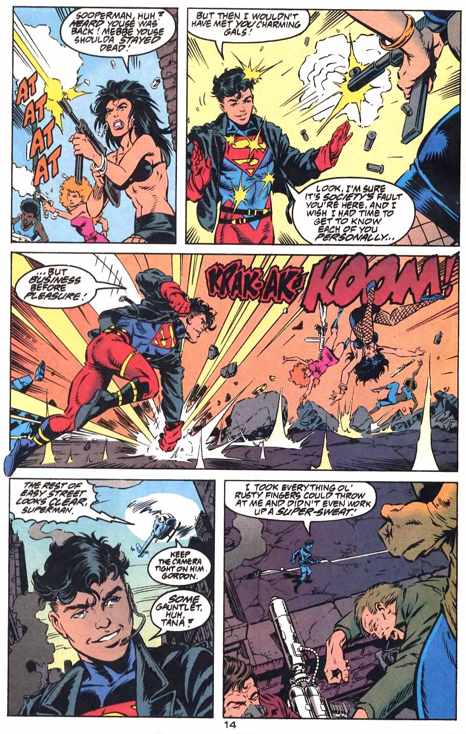 Read online Adventures of Superman (1987) comic -  Issue #501 - 18