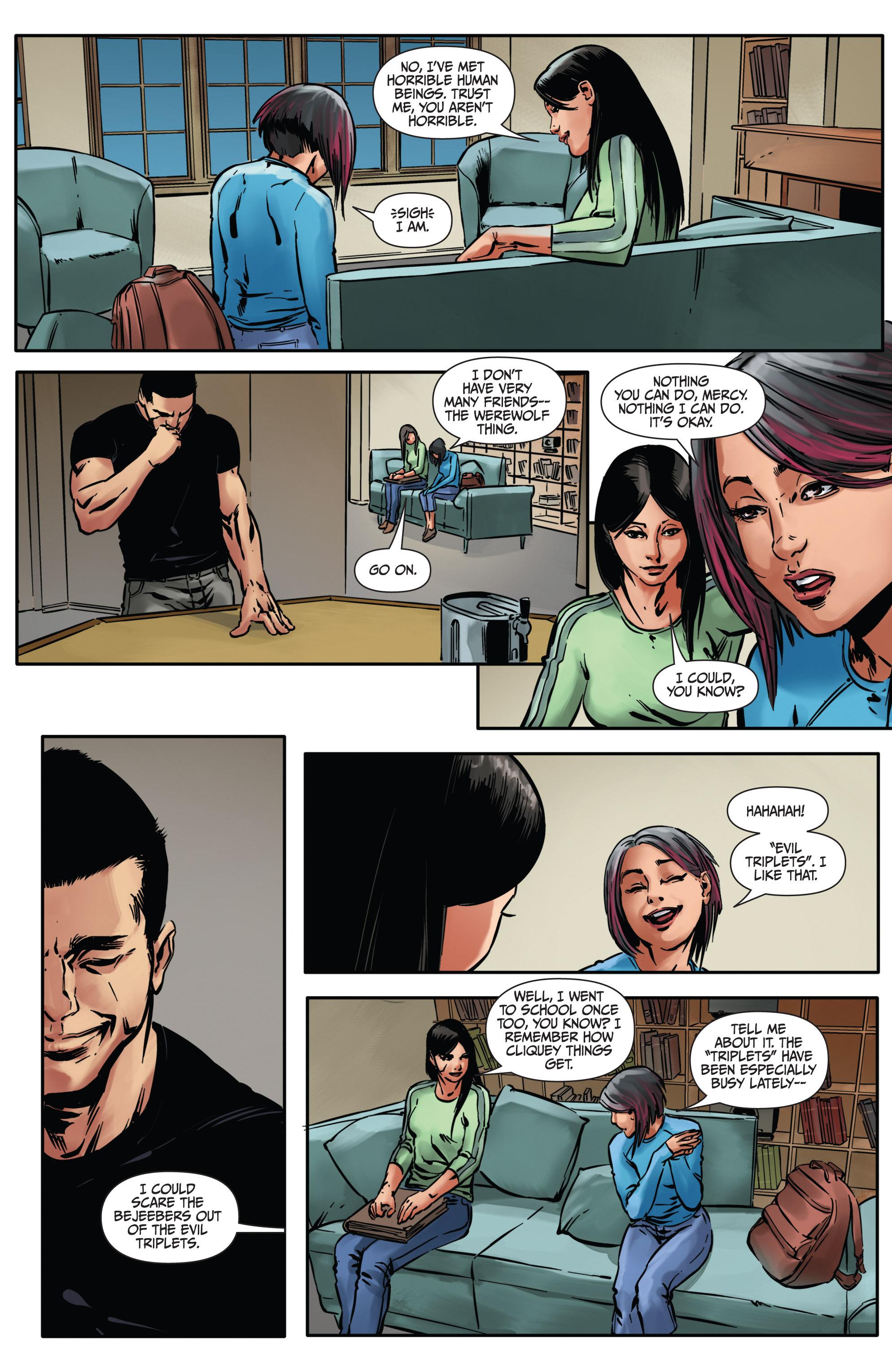 Read online Mercy Thompson comic -  Issue #4 - 12