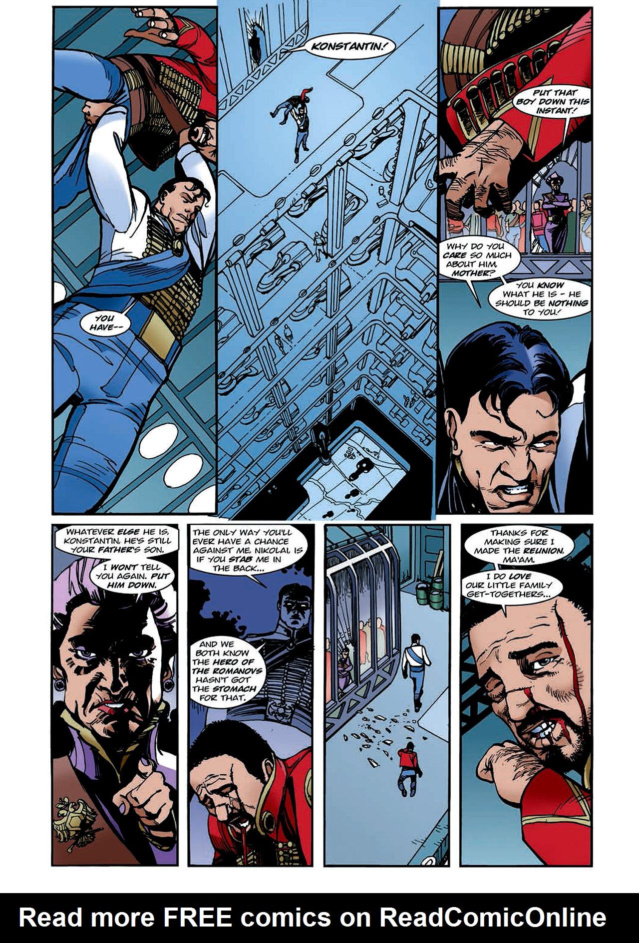 Read online Nikolai Dante comic -  Issue # TPB 4 - 116