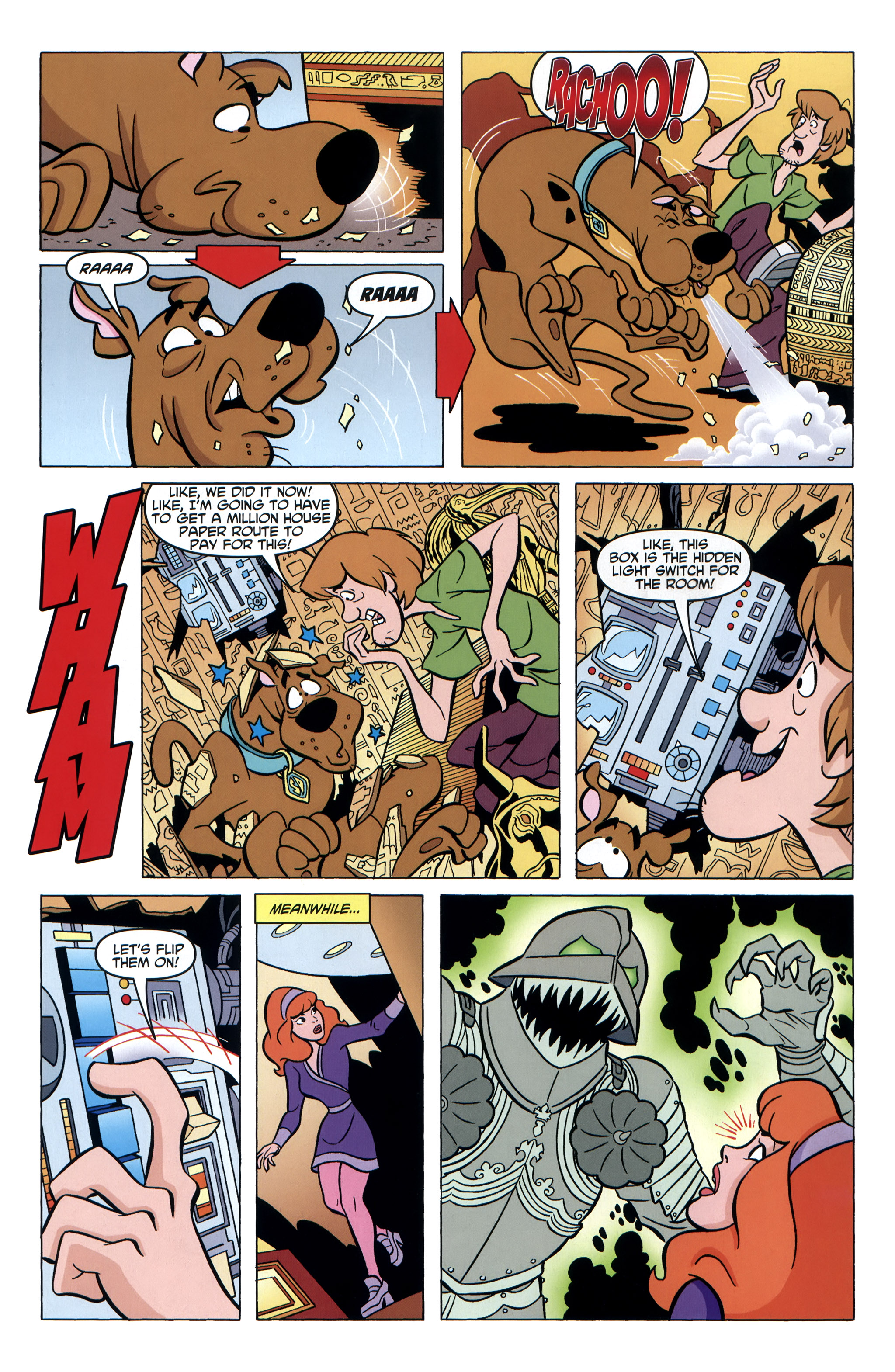 Read online Scooby-Doo: Where Are You? comic -  Issue #35 - 16