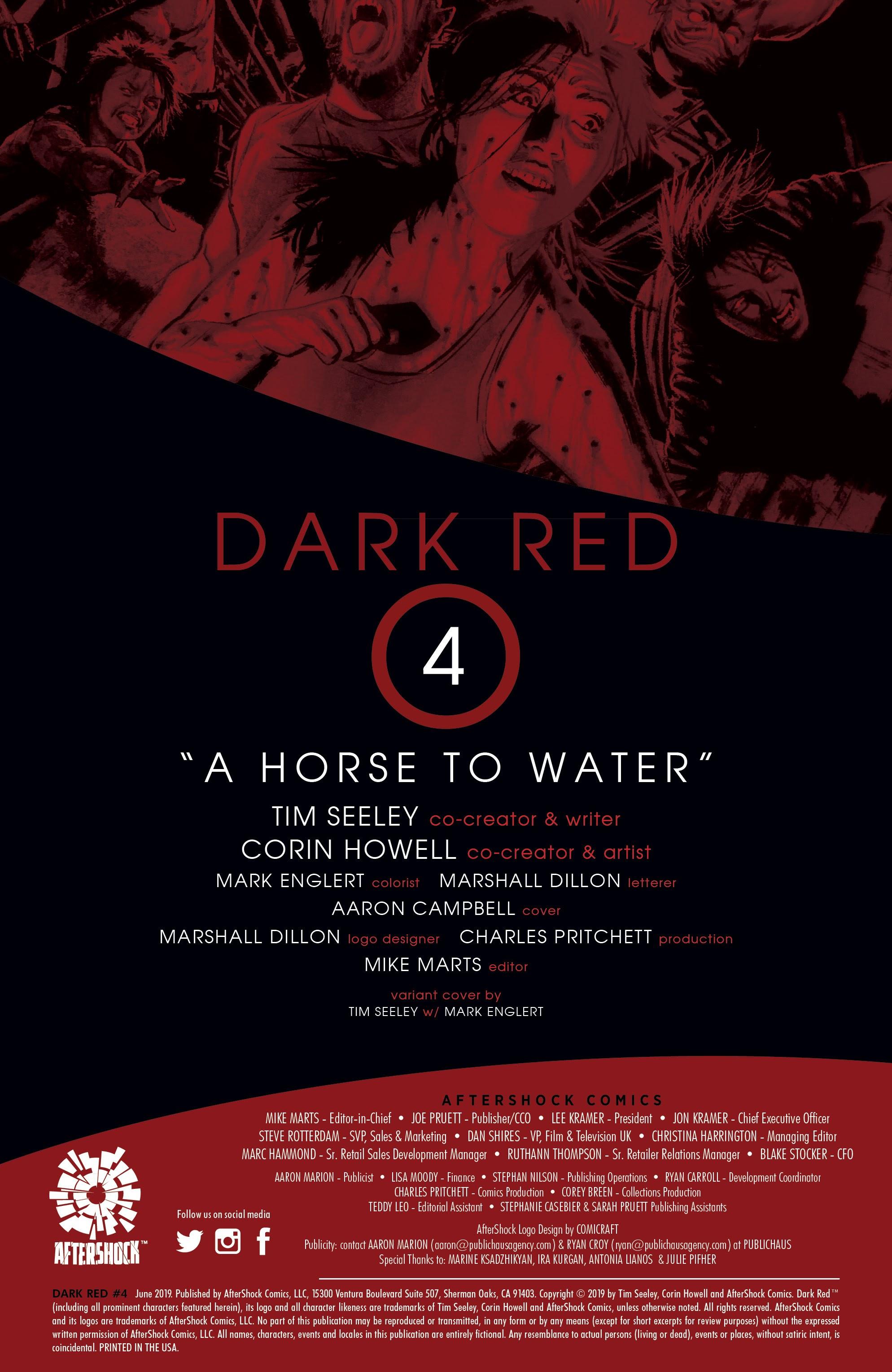 Read online Dark Red comic -  Issue #4 - 2