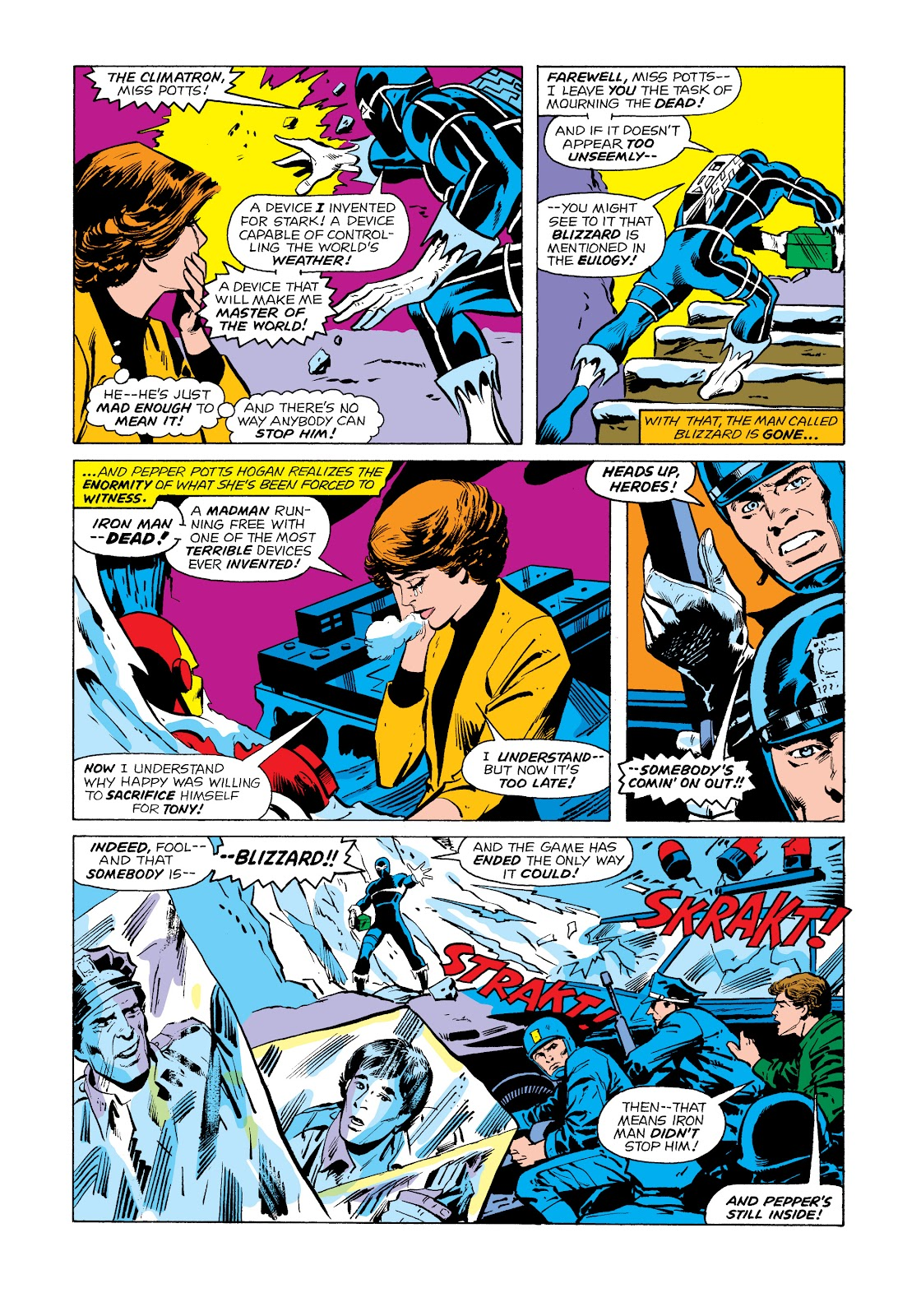 Read online Marvel Masterworks: The Invincible Iron Man comic -  Issue # TPB 11 (Part 2) - 10