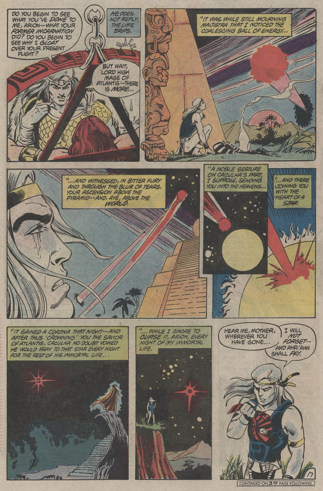 Read online Arion, Lord of Atlantis comic -  Issue #4 - 17