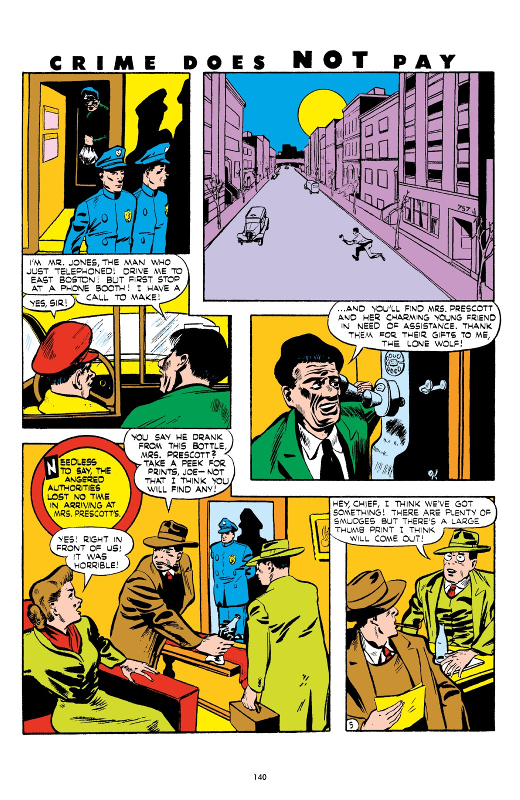 Read online Crime Does Not Pay Archives comic -  Issue # TPB 5 (Part 2) - 40