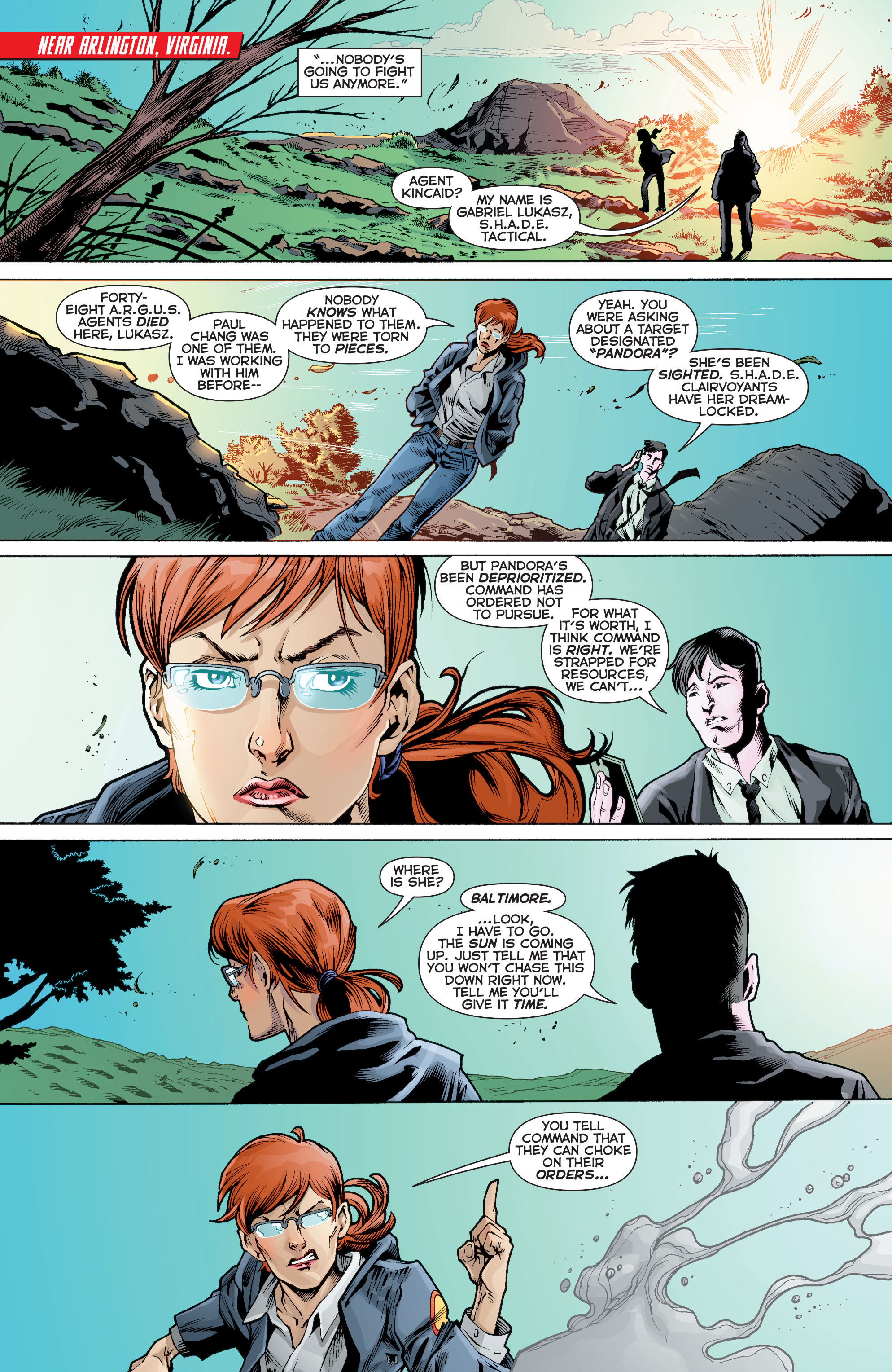 Read online Trinity of Sin: Pandora comic -  Issue #10 - 7