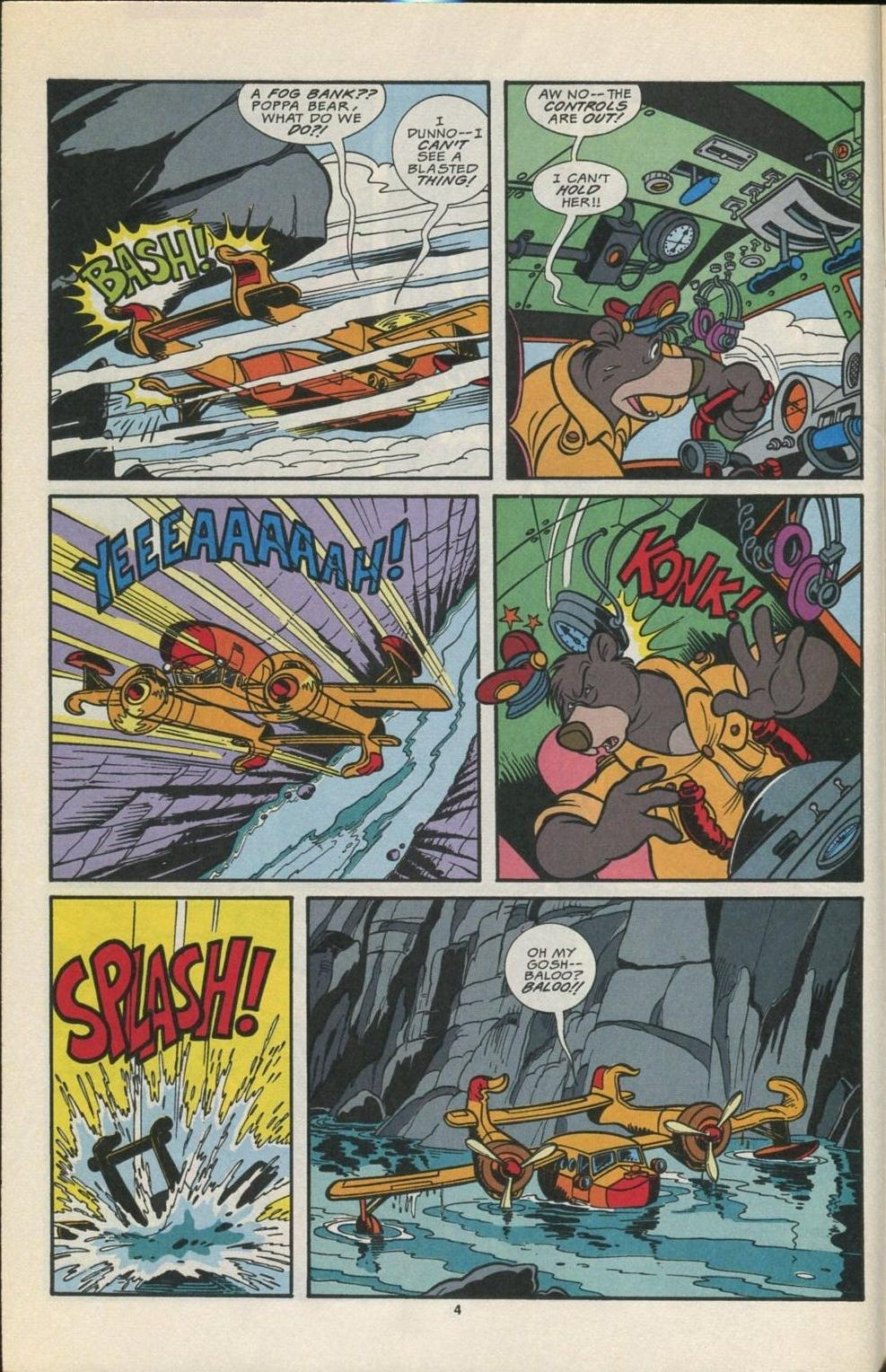 Read online Disney's Tale Spin comic -  Issue #5 - 5