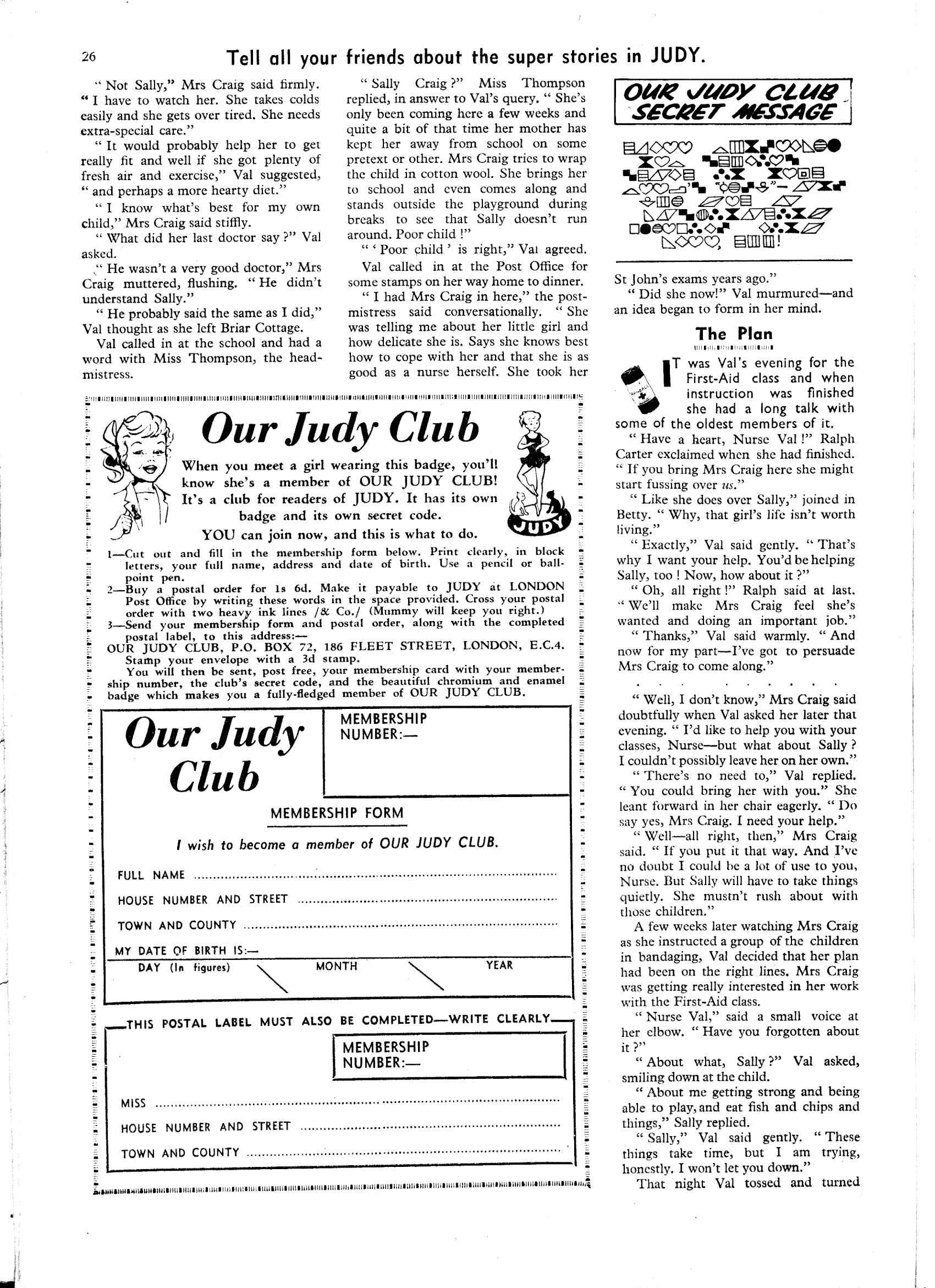 Read online Judy comic -  Issue #55 - 26