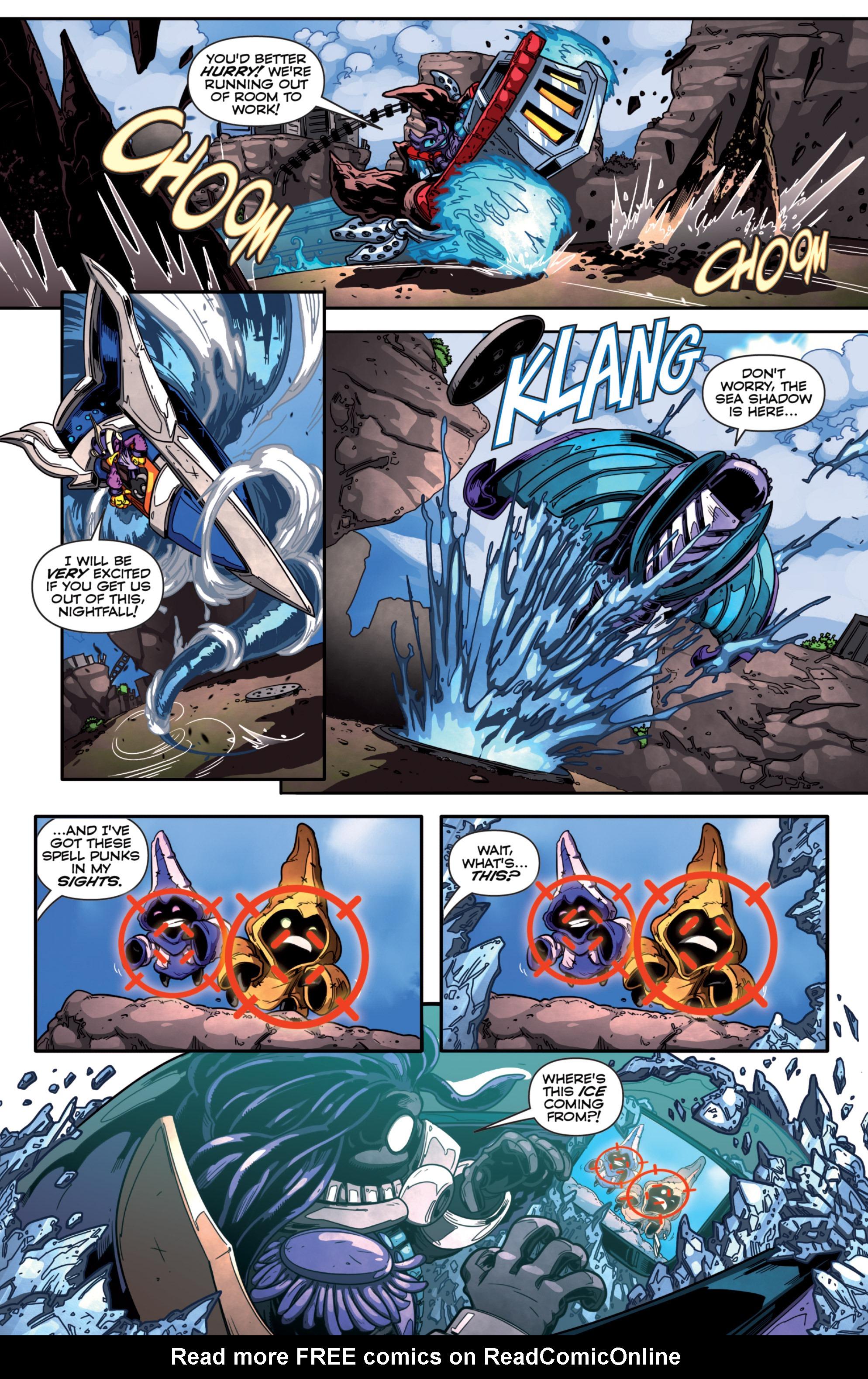 Read online Skylanders Superchargers comic -  Issue #1 - 14