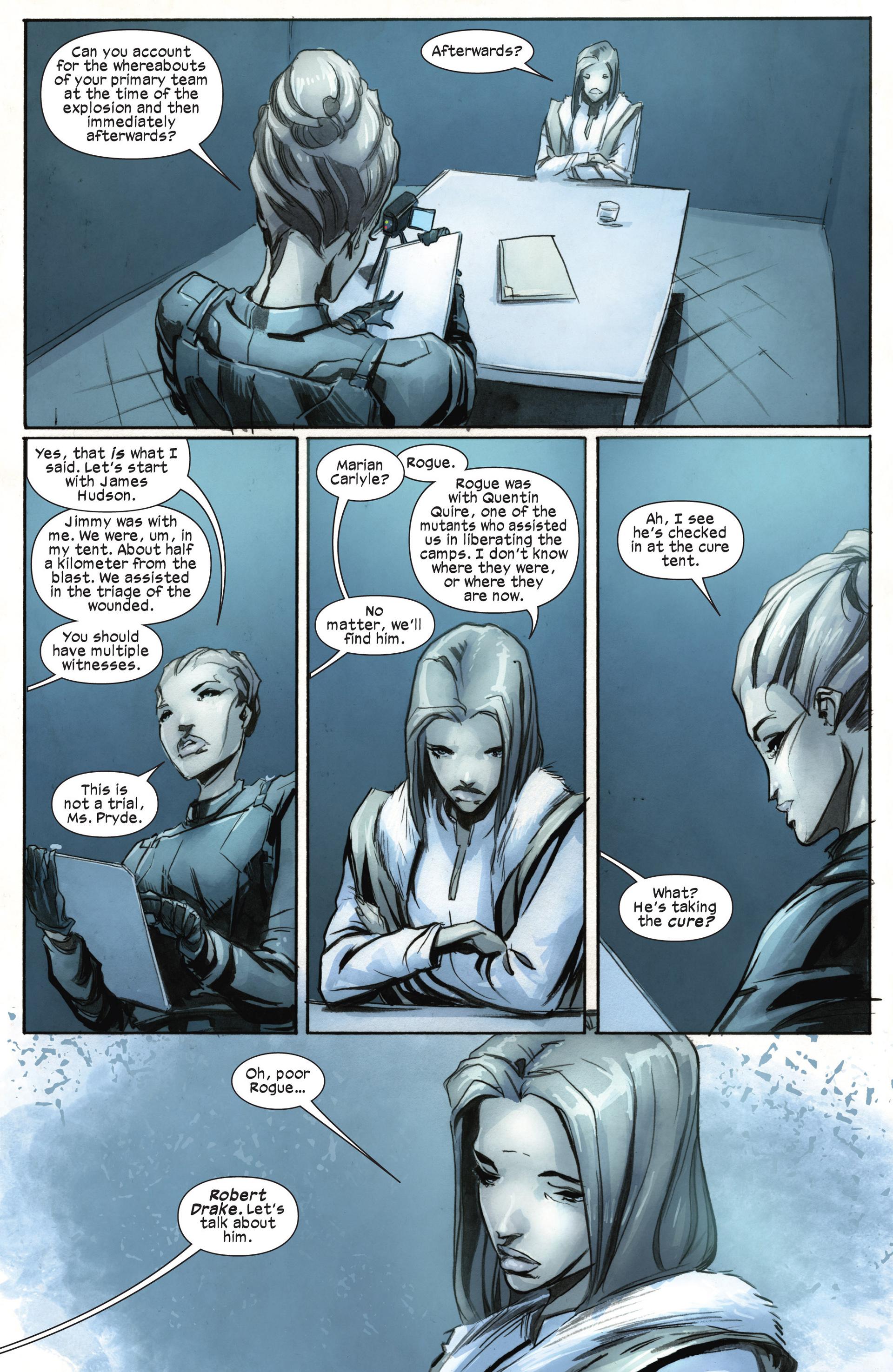 Read online Ultimate Comics X-Men comic -  Issue #18.1 - 9
