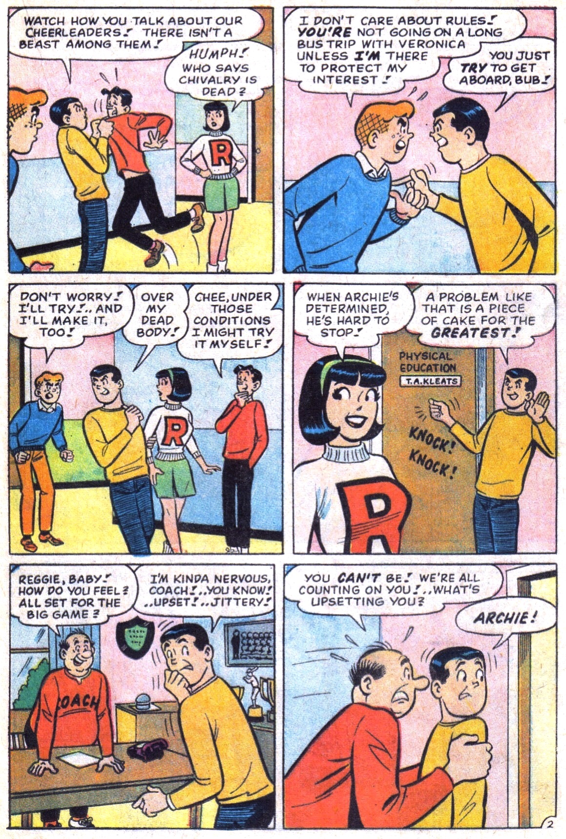 Read online Archie (1960) comic -  Issue #173 - 21