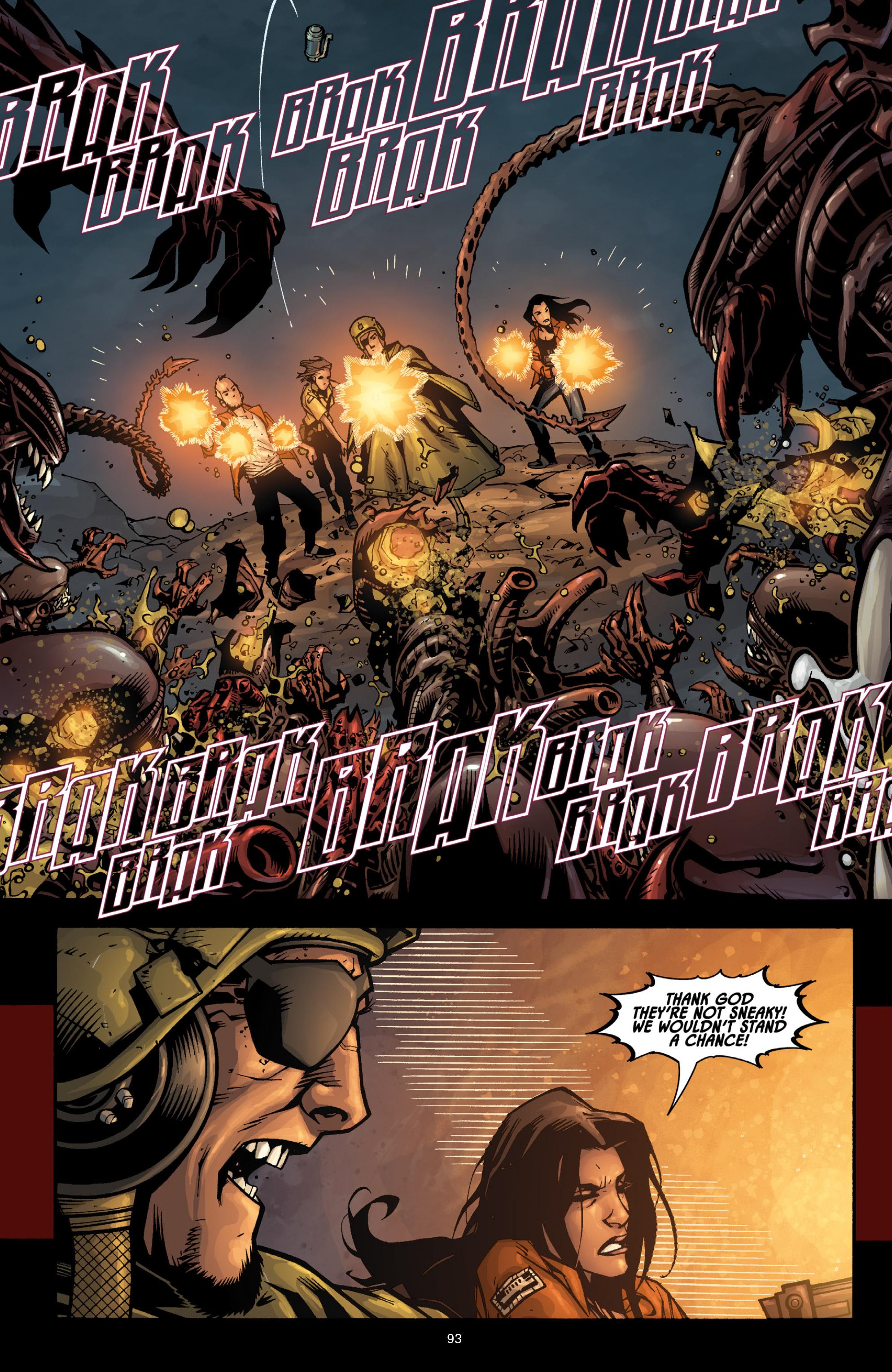 Read online Aliens (2009) comic -  Issue # TPB - 88