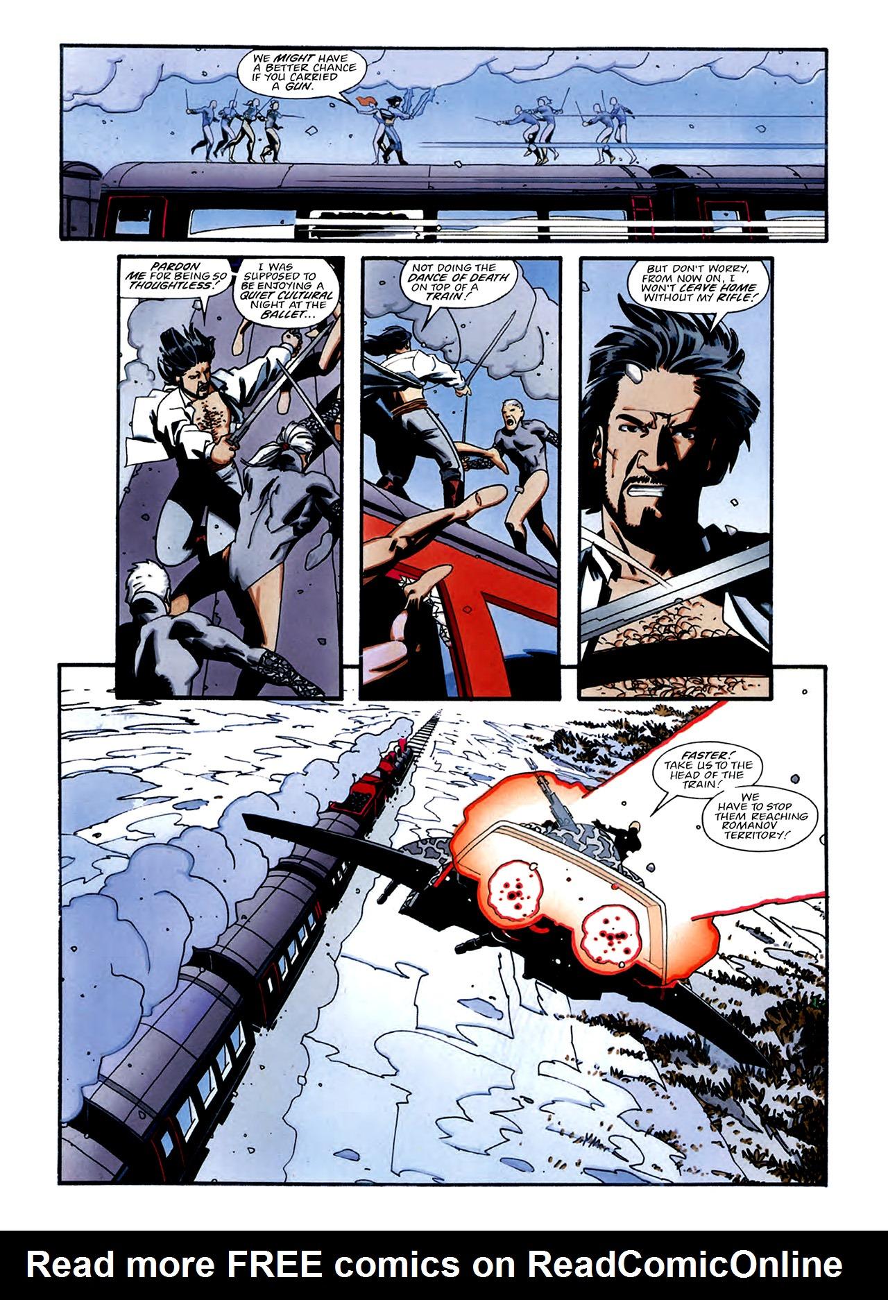 Read online Nikolai Dante comic -  Issue # TPB 3 - 32