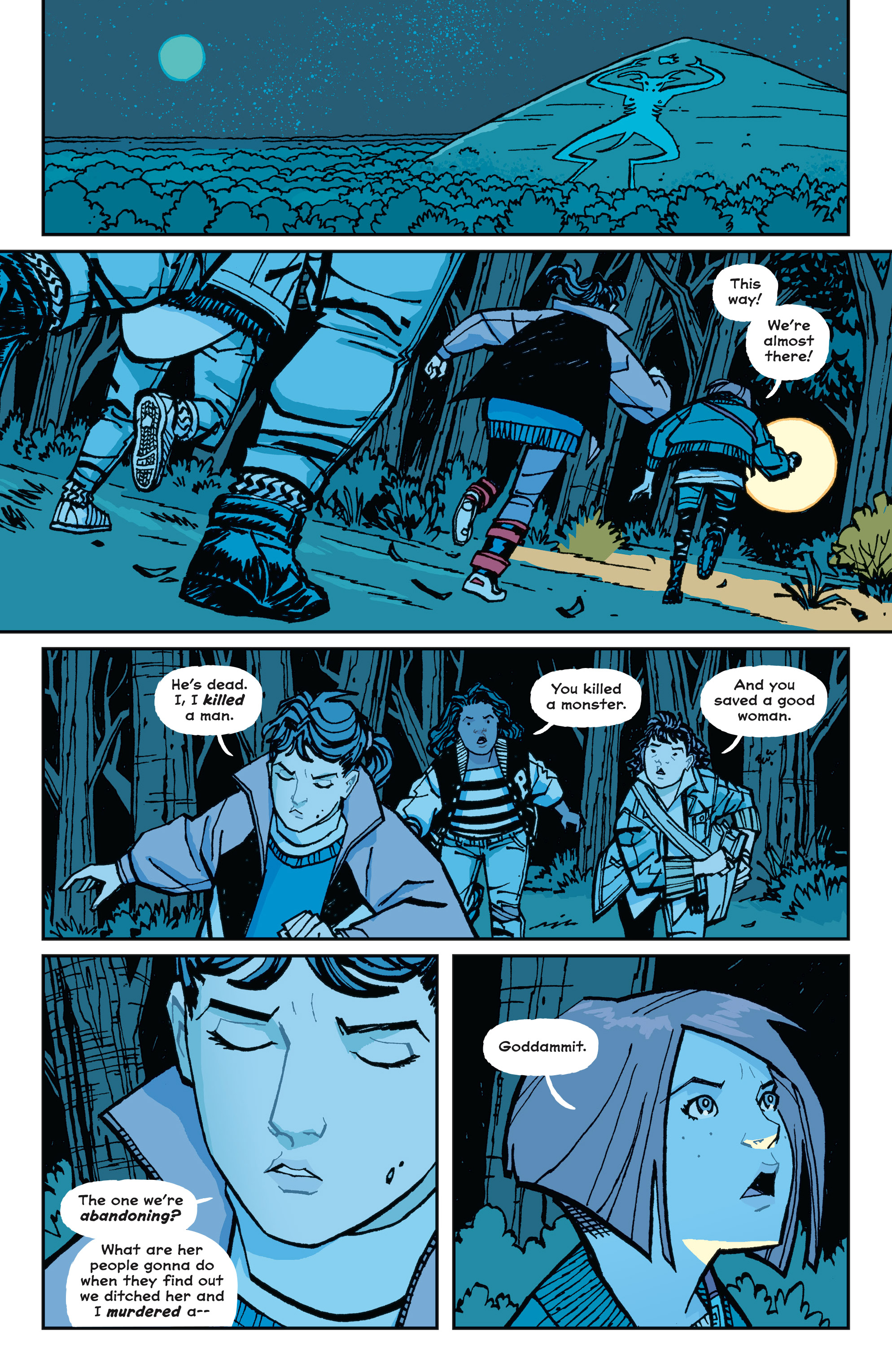 Read online Paper Girls comic -  Issue #15 - 23