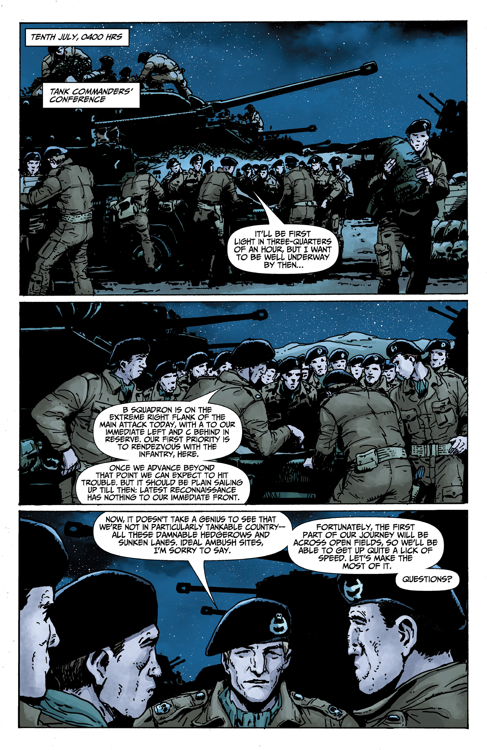 Read online World of Tanks comic -  Issue #1 - 14